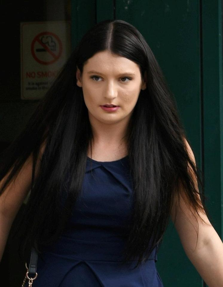 Elizabeth Wilkins, 23, stands accused of seriously injuring her baby son in September 2016