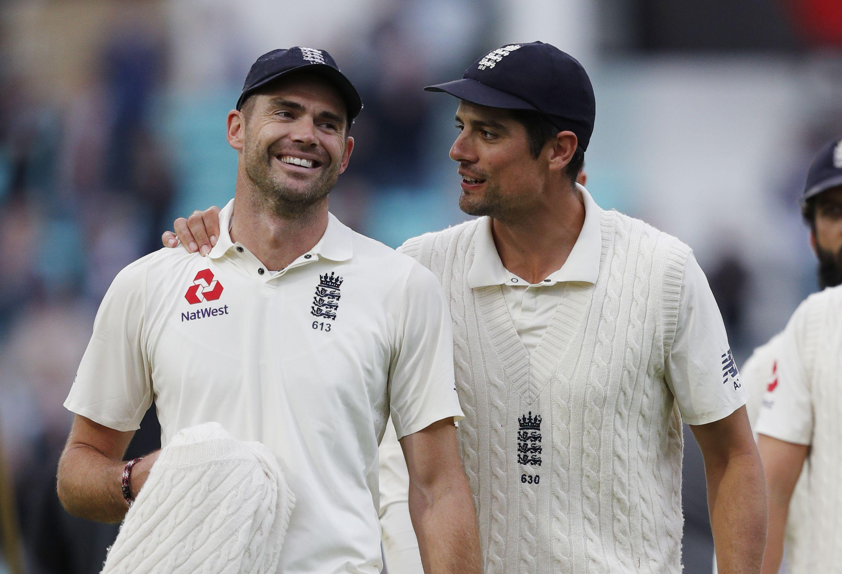 Cook and Anderson remain two of England's greatest ever players