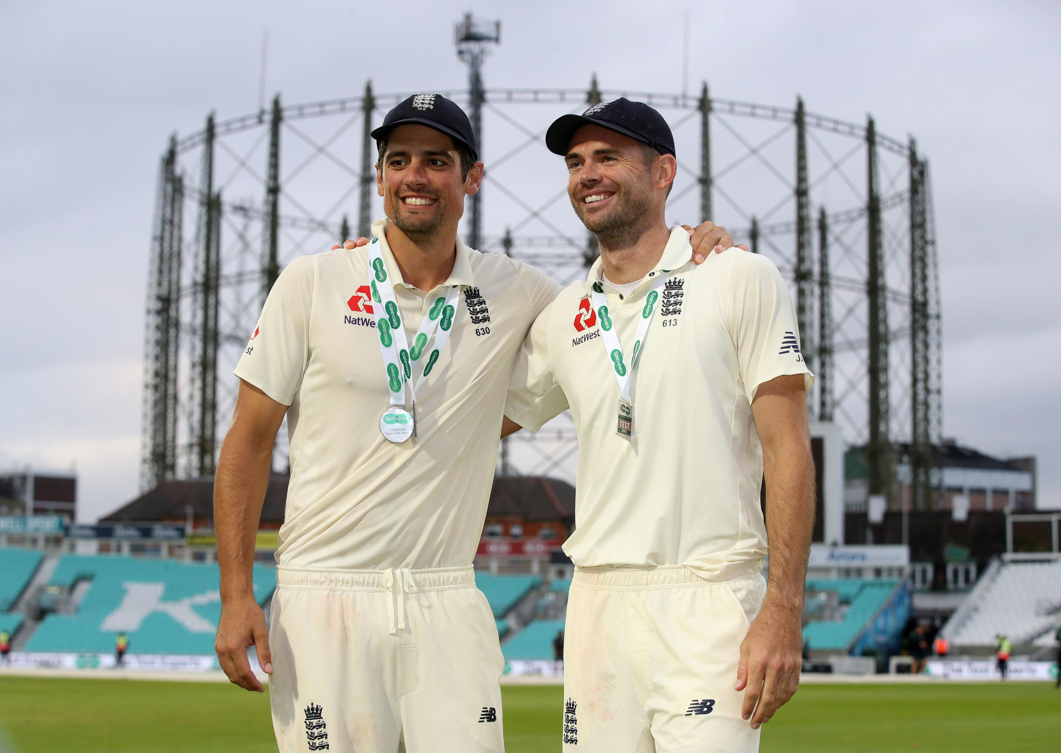 History-makers Alastair Cook and James Anderson reflect on their achievements after England wrapped up a 4-1 series victory over India at The Oval
