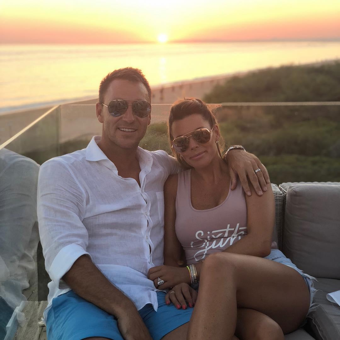 John Terry, pictured holidaying with wife Toni, has rejected a move to Spartak Moscow
