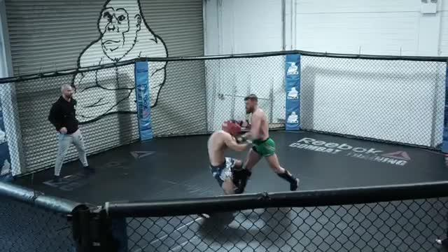 McGregor is returning to the Octagon after two years out