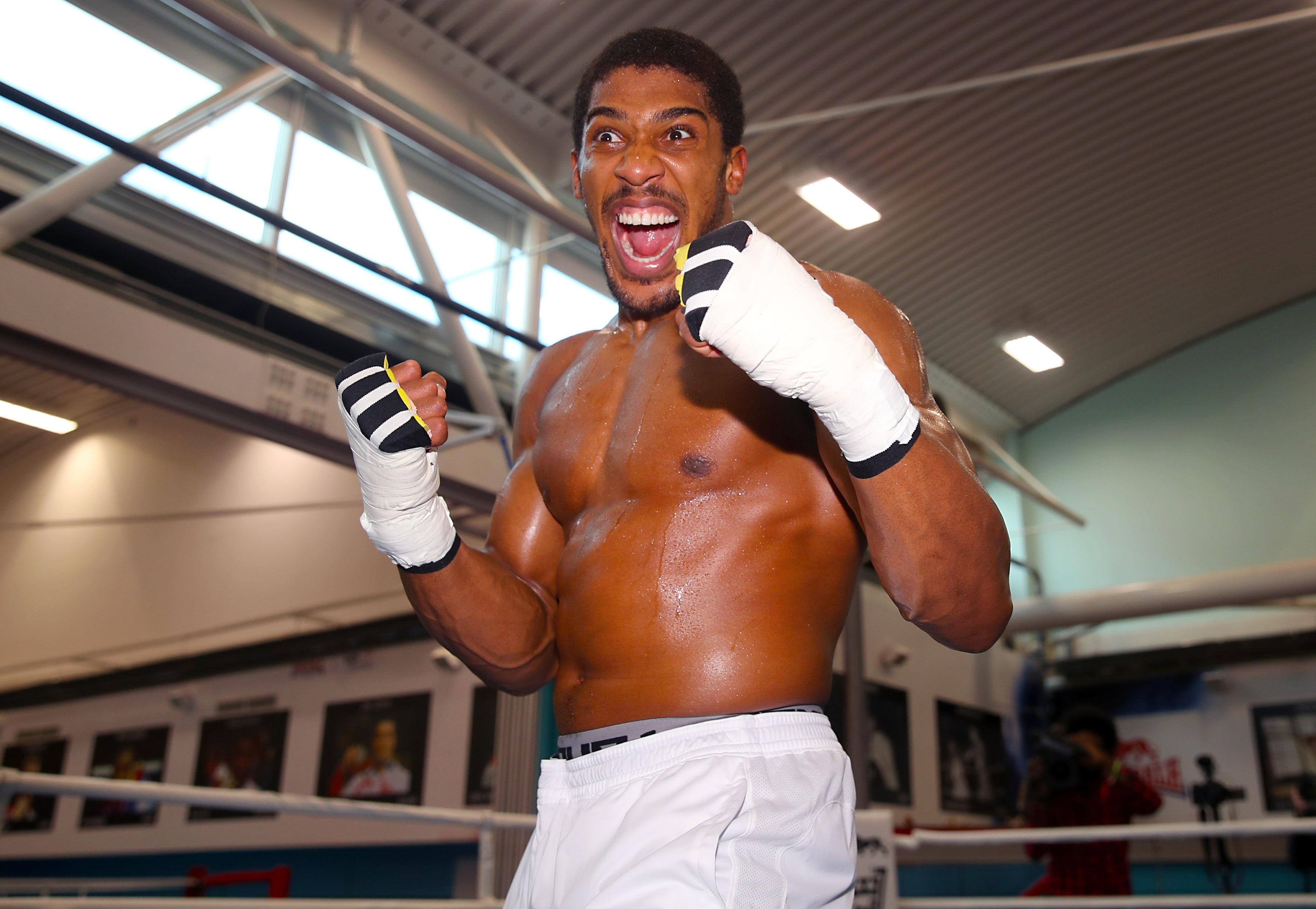 AJ is ready to take on USA champ Deontay Wilder - regardless of whether he beats or loses to Tyson Fury later this year