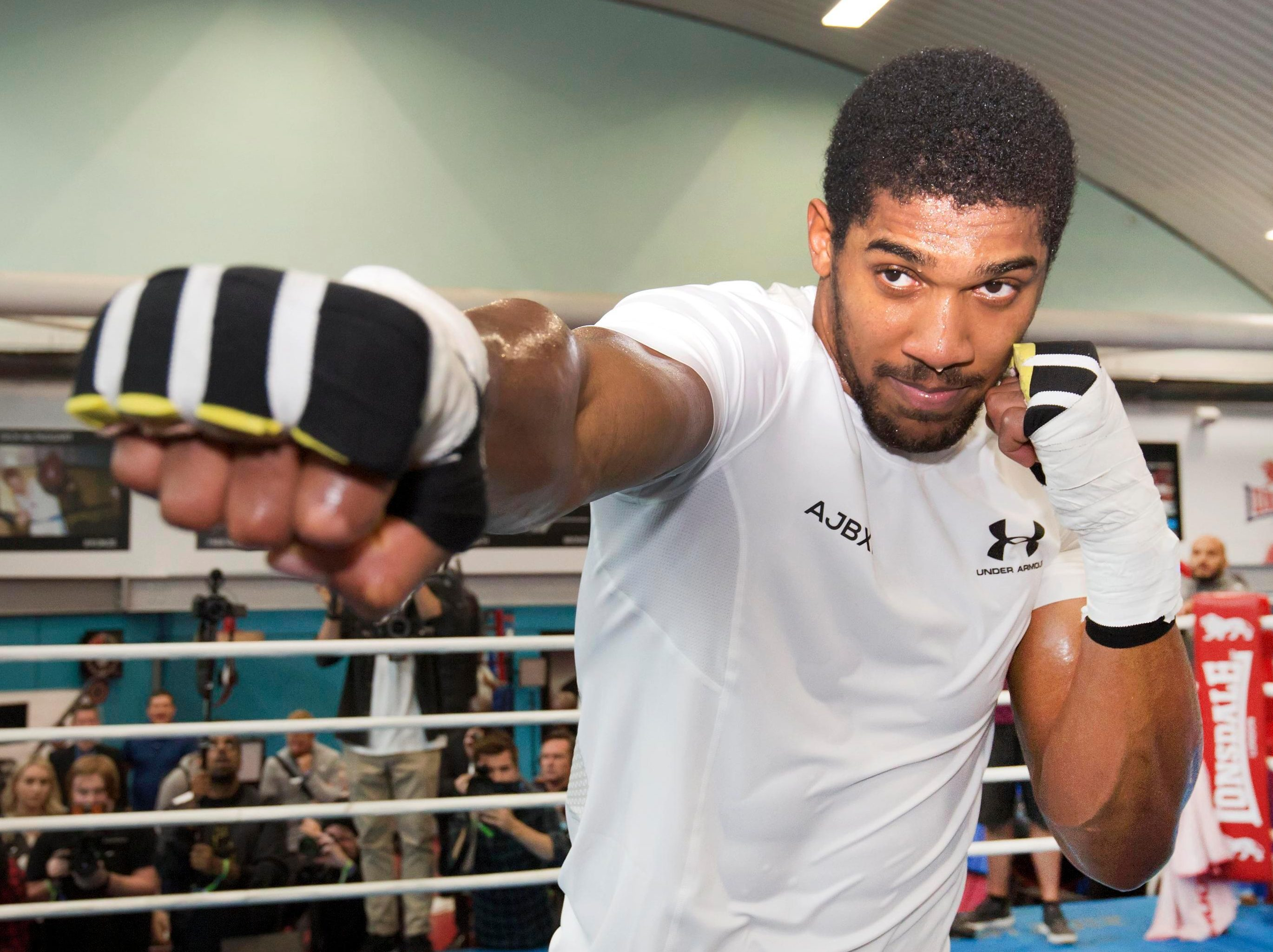 Anthony Joshua is facing calls that he is no longer THE man in heavyweight boxing