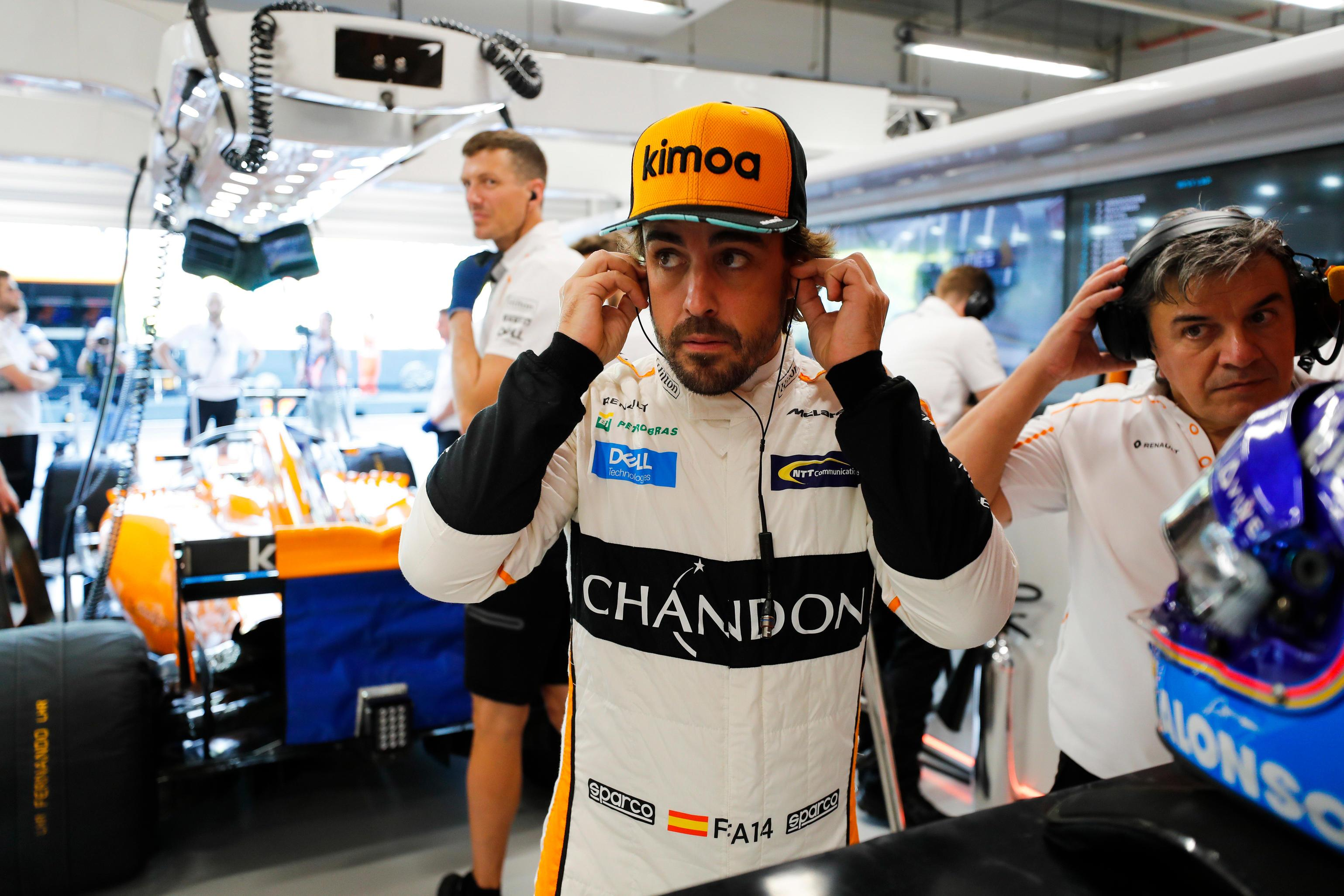 Fernando Alonso is currently being tipped with a move to IndyCar