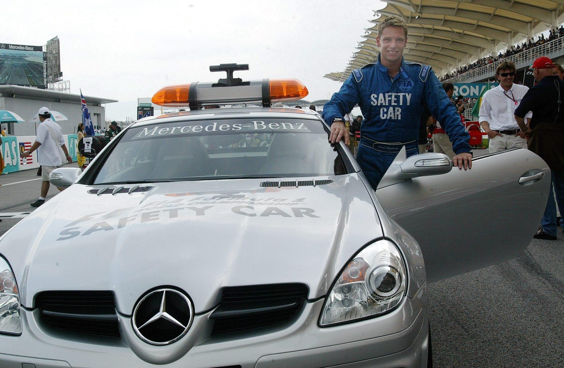Safety Car driver Bernd Maylander has one of the best records at Singapore Grand Prix