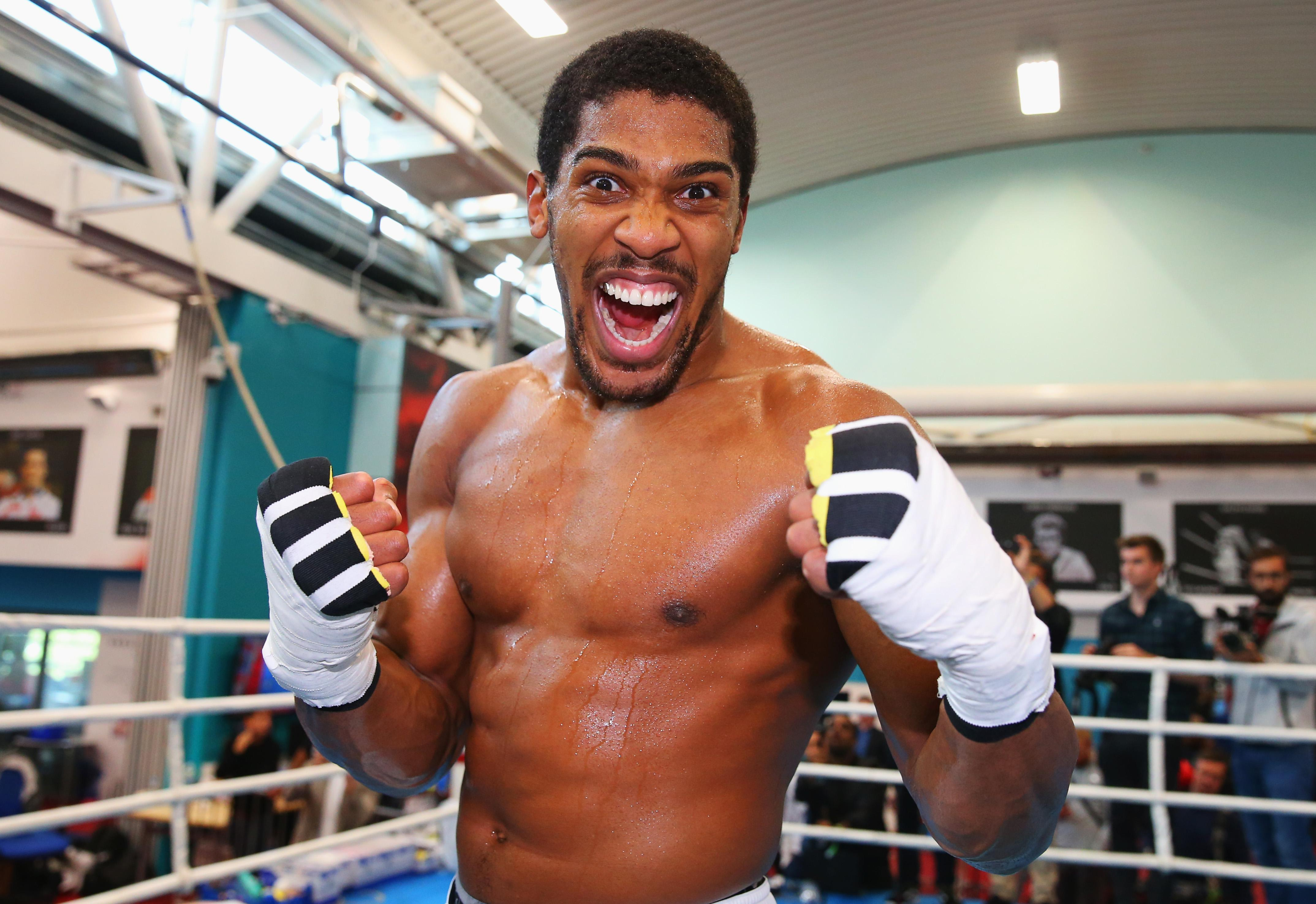 Anthony Joshua has vowed to take on the winner of Tyson Fury and Deontay Wilder