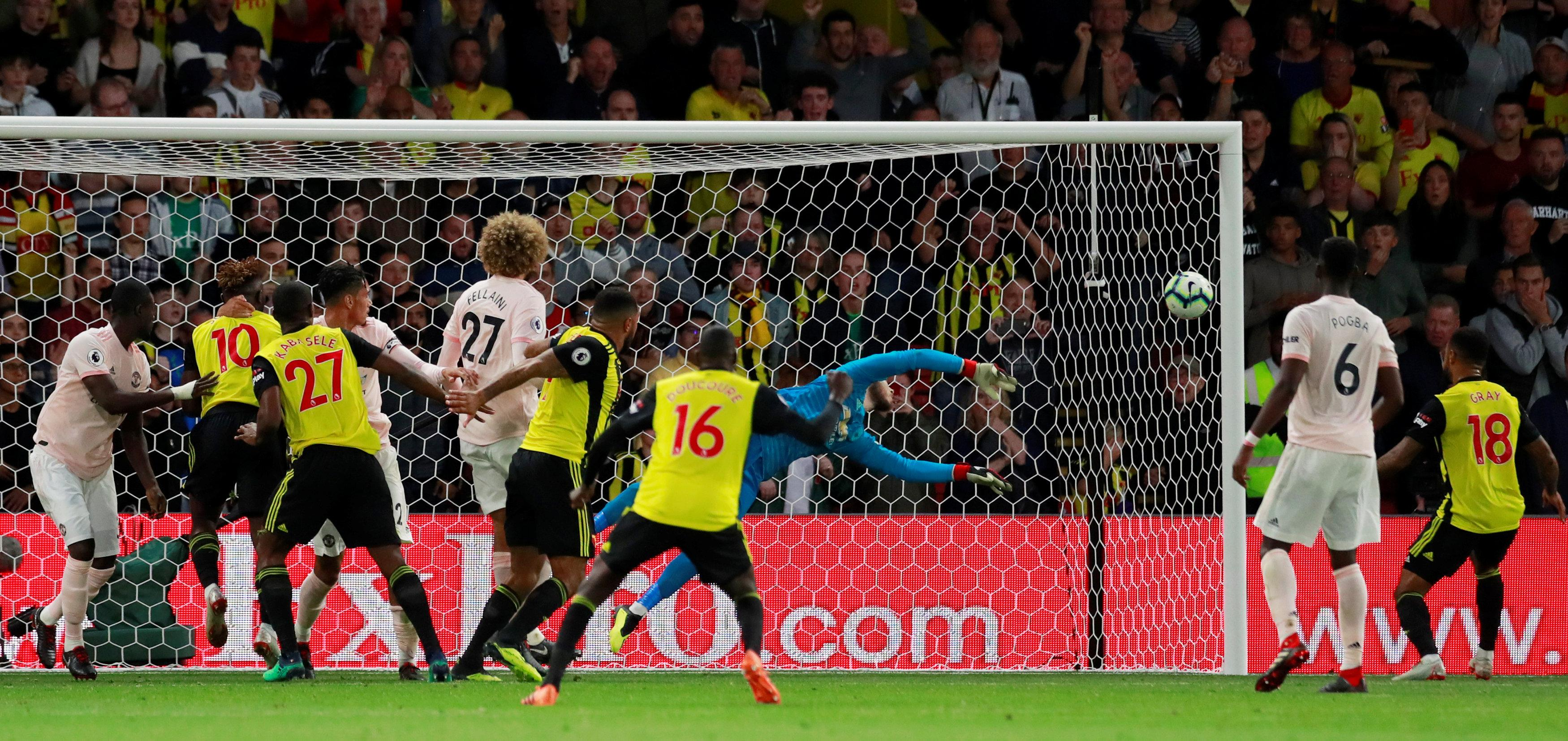 After a poor World Cup and shaky start to the season, De Gea is getting back to his best - with impressive performances against Wolves and Watford