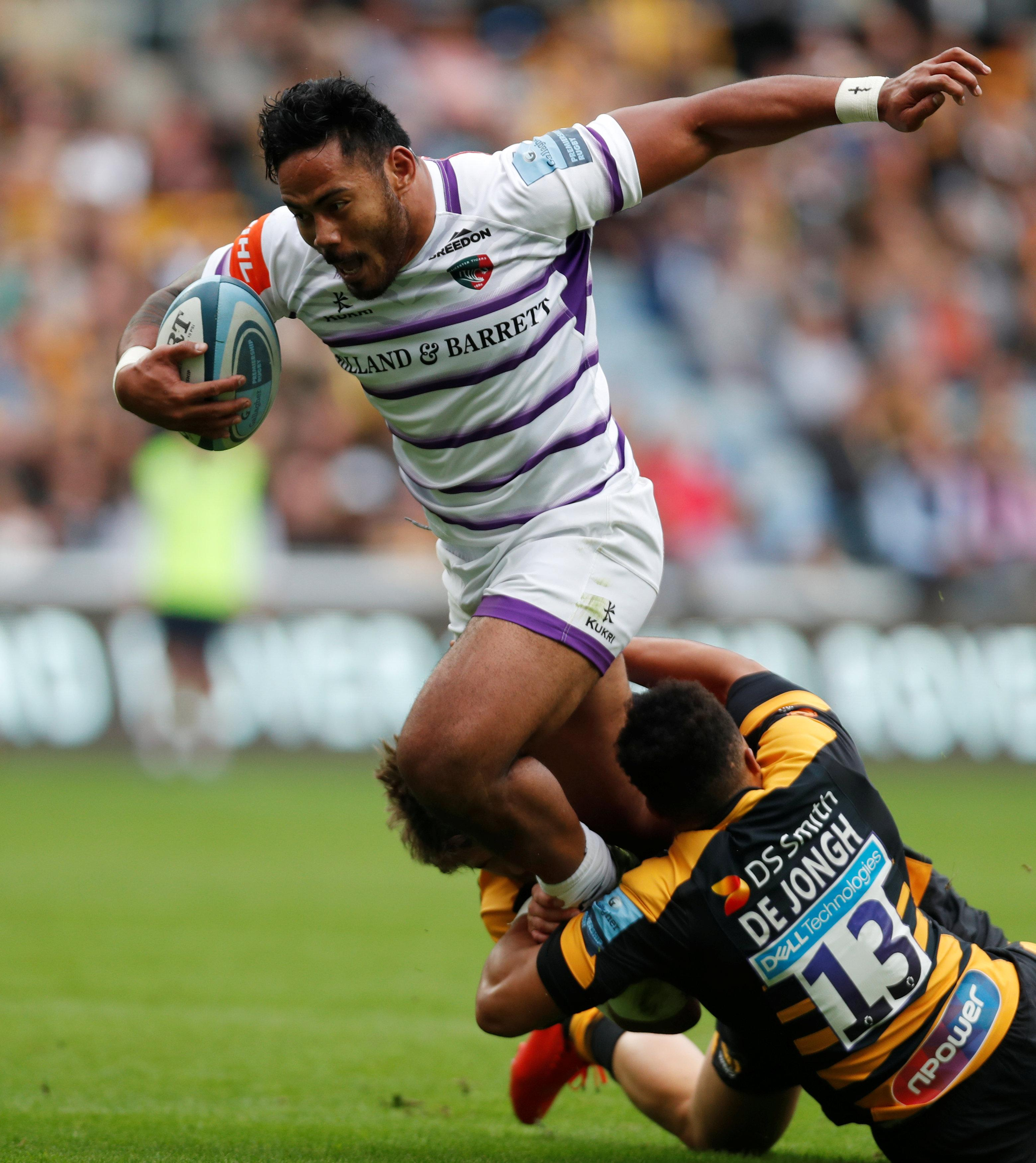 Manu Tuilagi has earned a recall into the international set-up