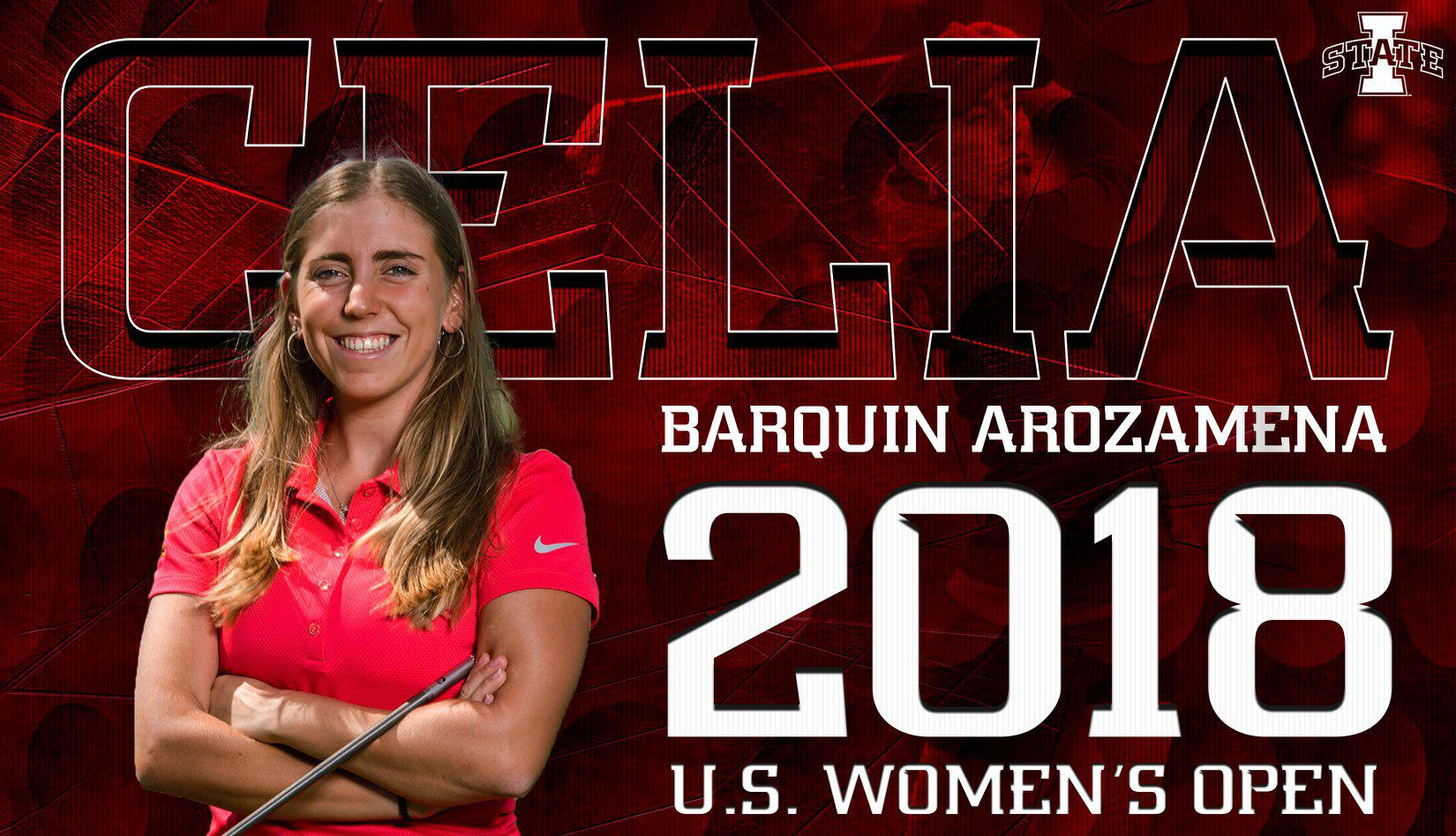 Celia Barquin Arozamena qualified for the US Women's Open this year