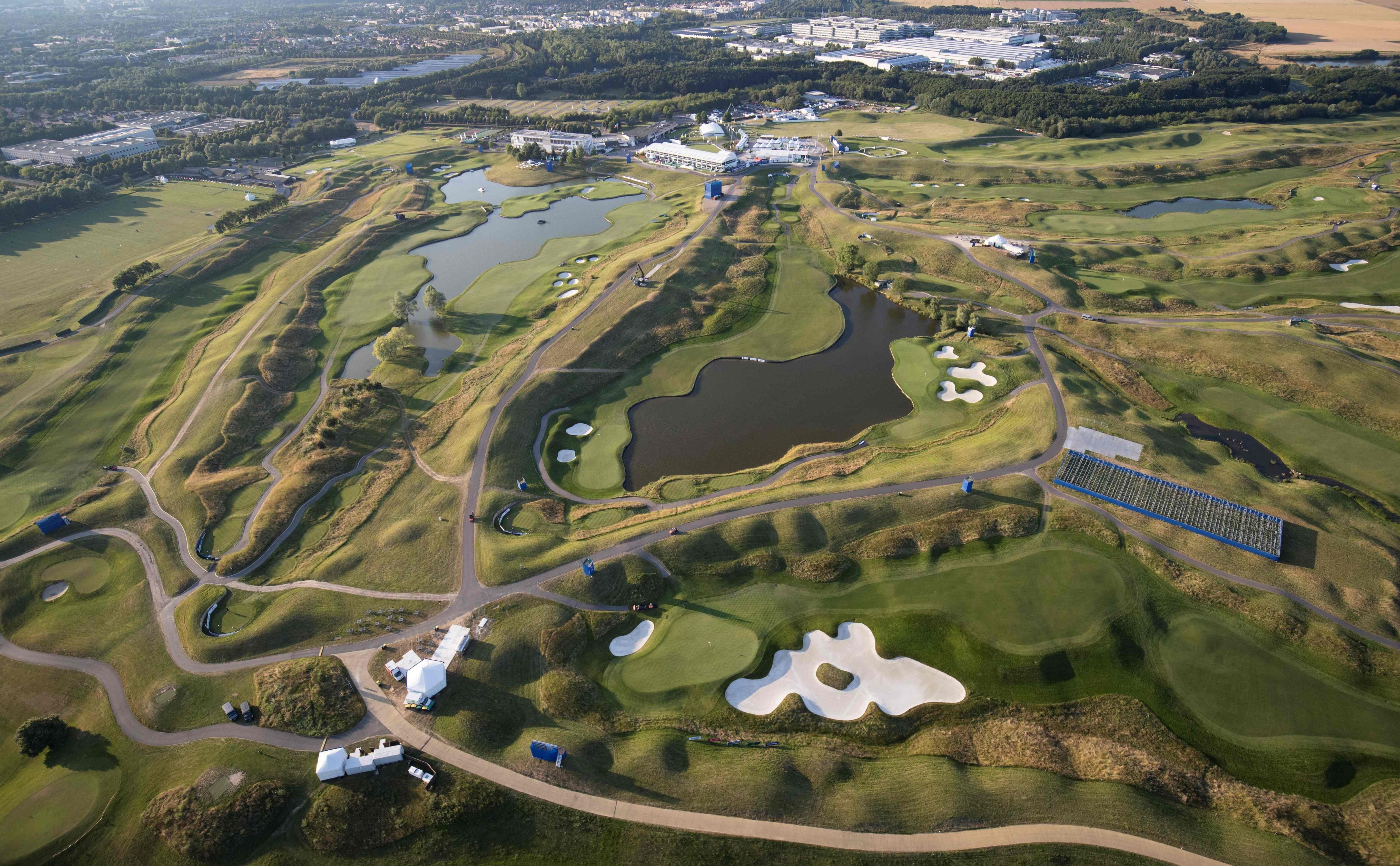 Le Golf National in Paris is the venue for the 42nd Ryder Cup