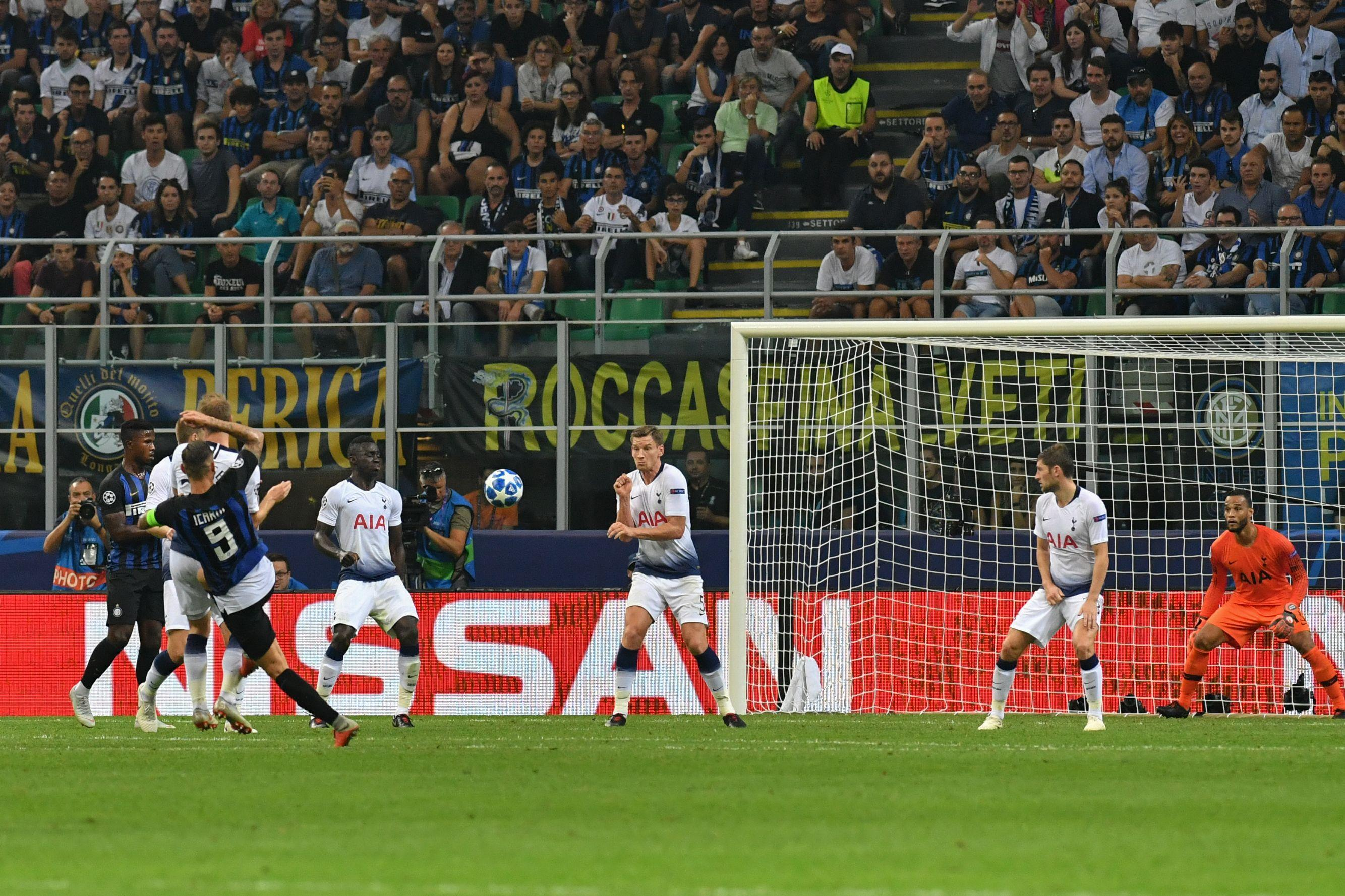Mauro Icardi netted an incredible late volley to set-up Inter's win