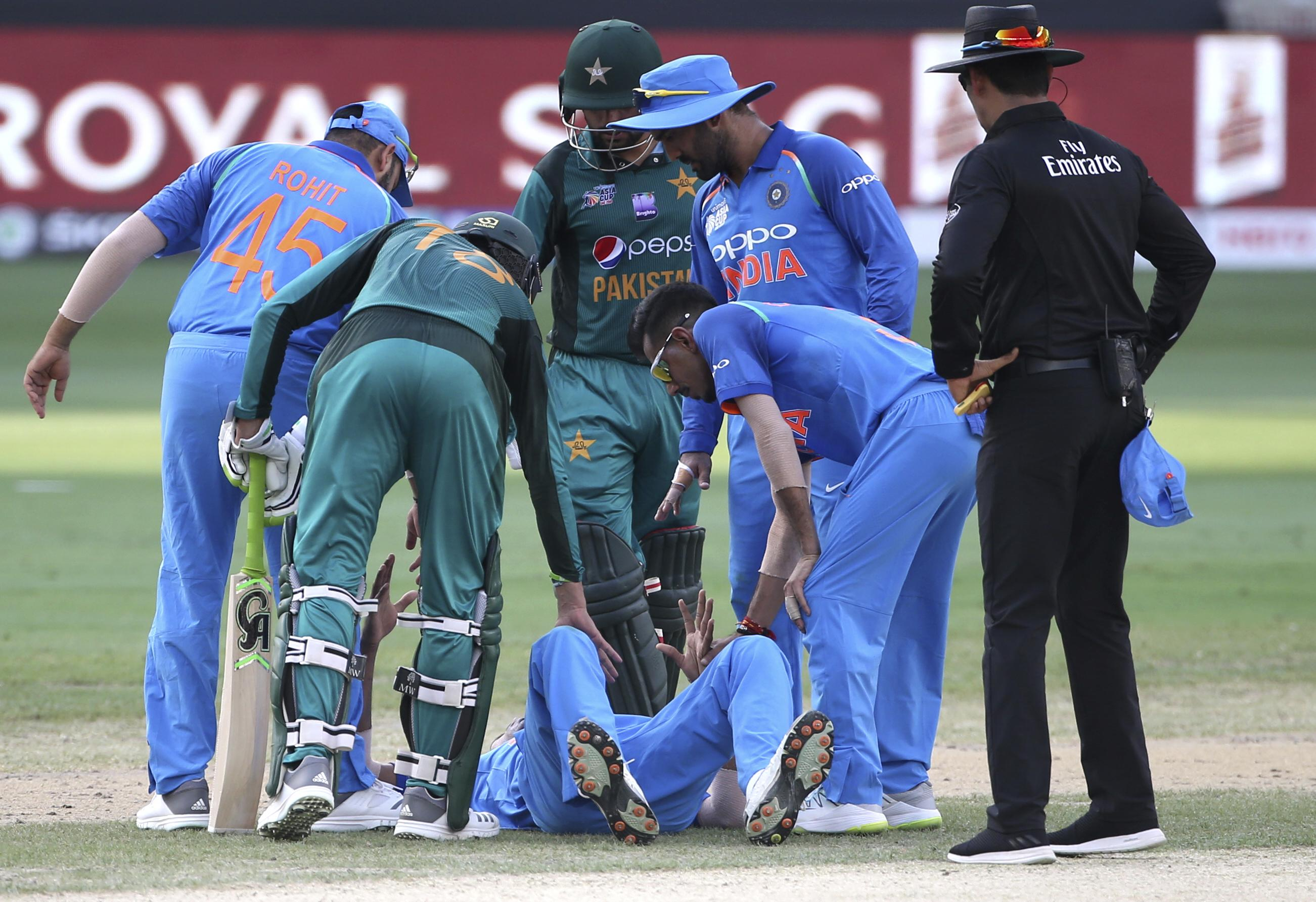 Hardik Pandya will play no further part in the Asia Cup for India