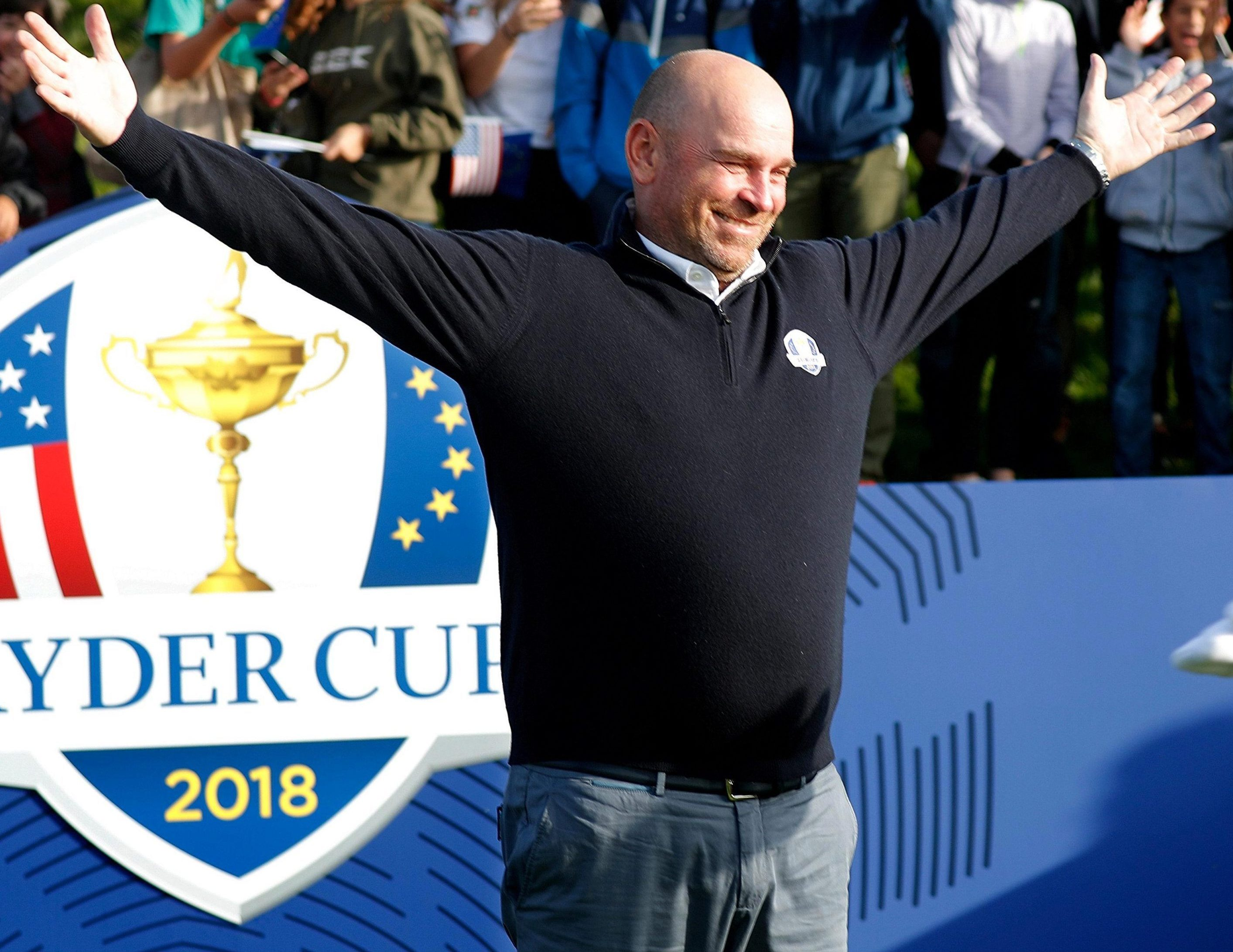 Thomas Bjorn leads Europe into action at the 42nd Ryder Cup