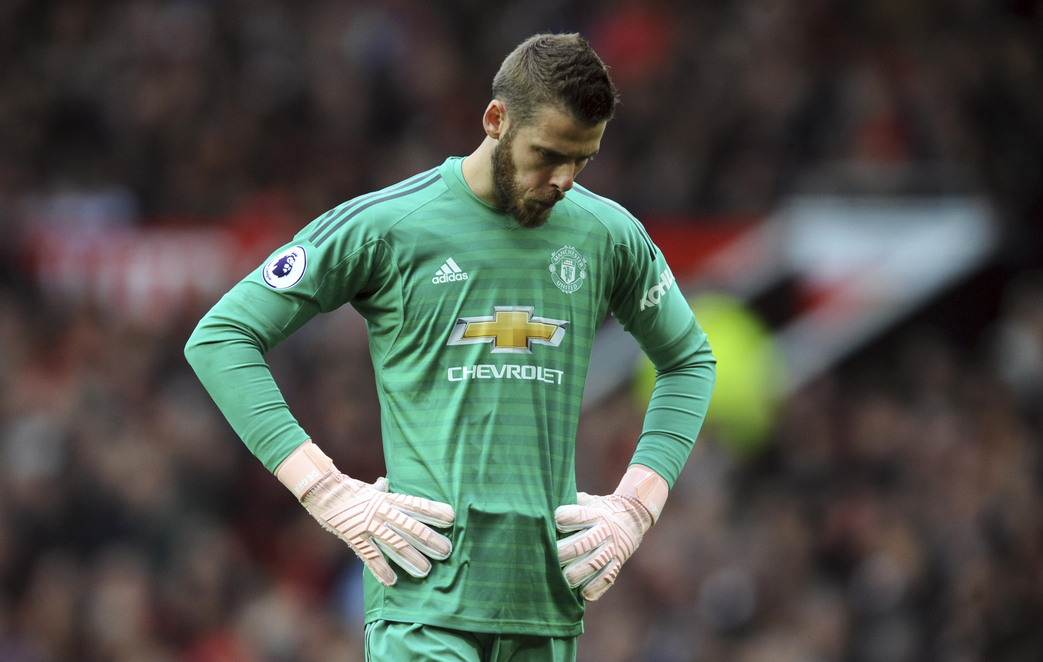 Manchester United are far too reliant on goalkeeper David De Gea