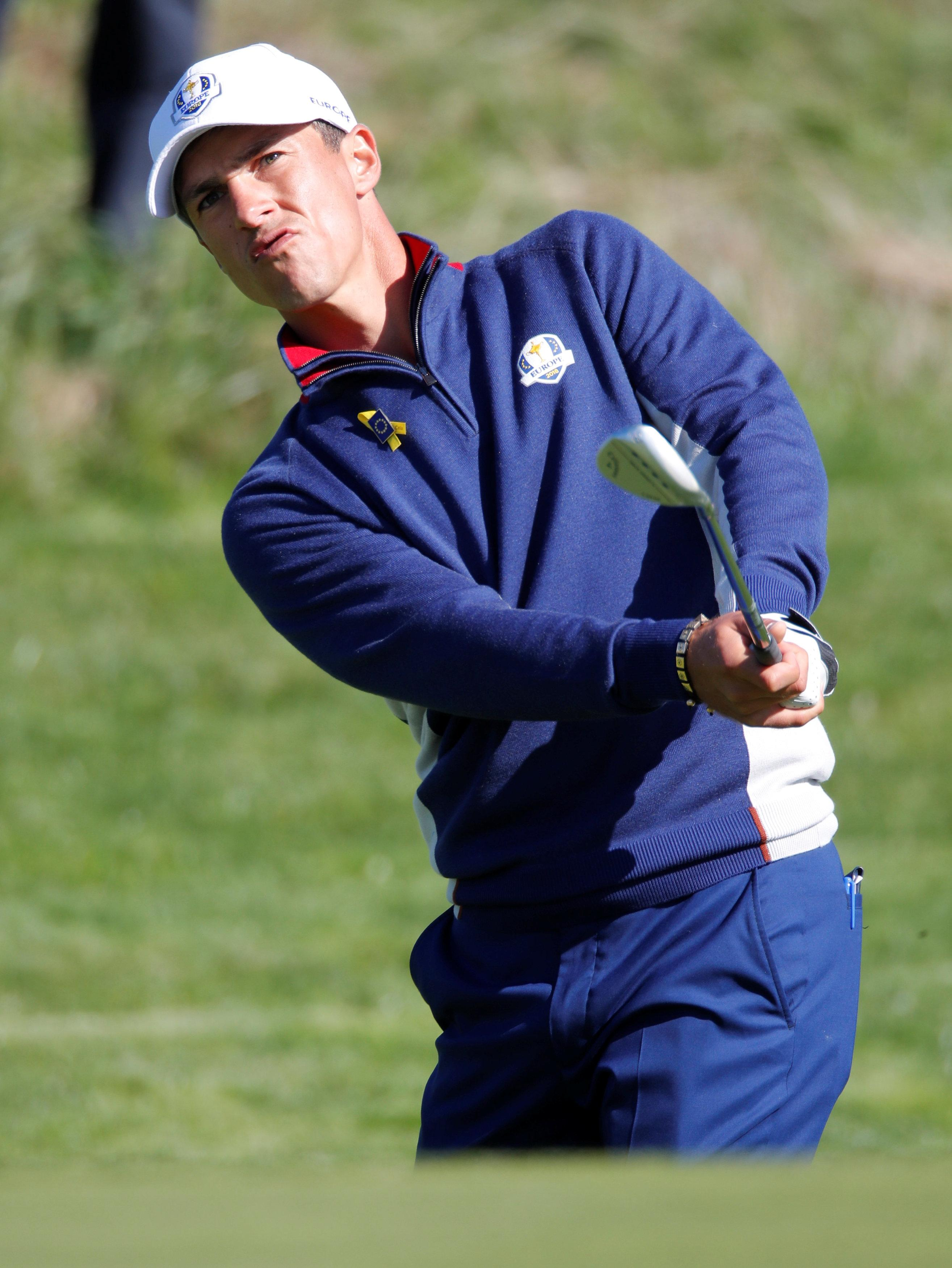 Thorbjorn Olesen snatched the final automatic qualification place for Team Europe from Matt Fitzpatrick