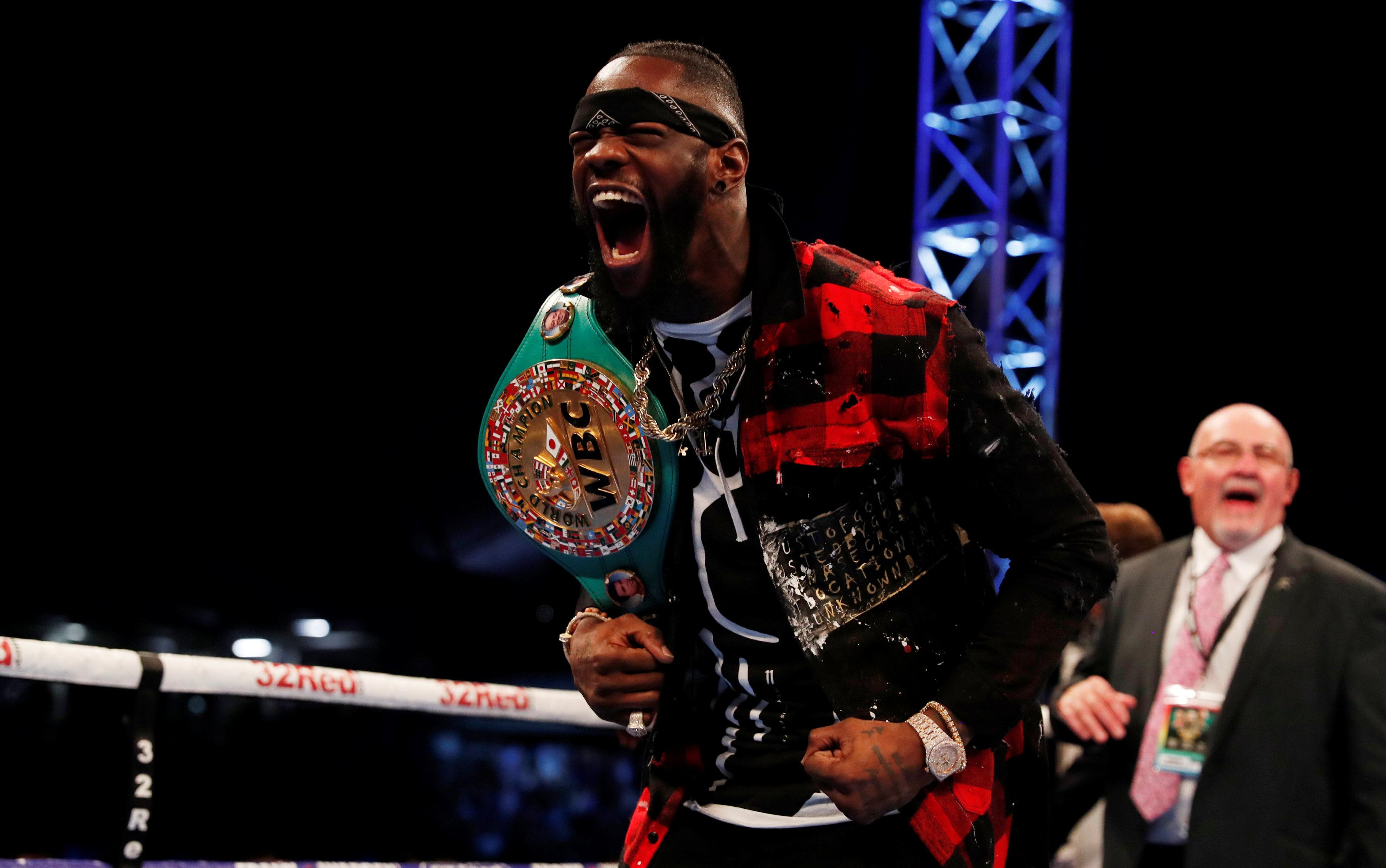 Wilder has knocked out out 39 of his 40 opponents inside the squared circle