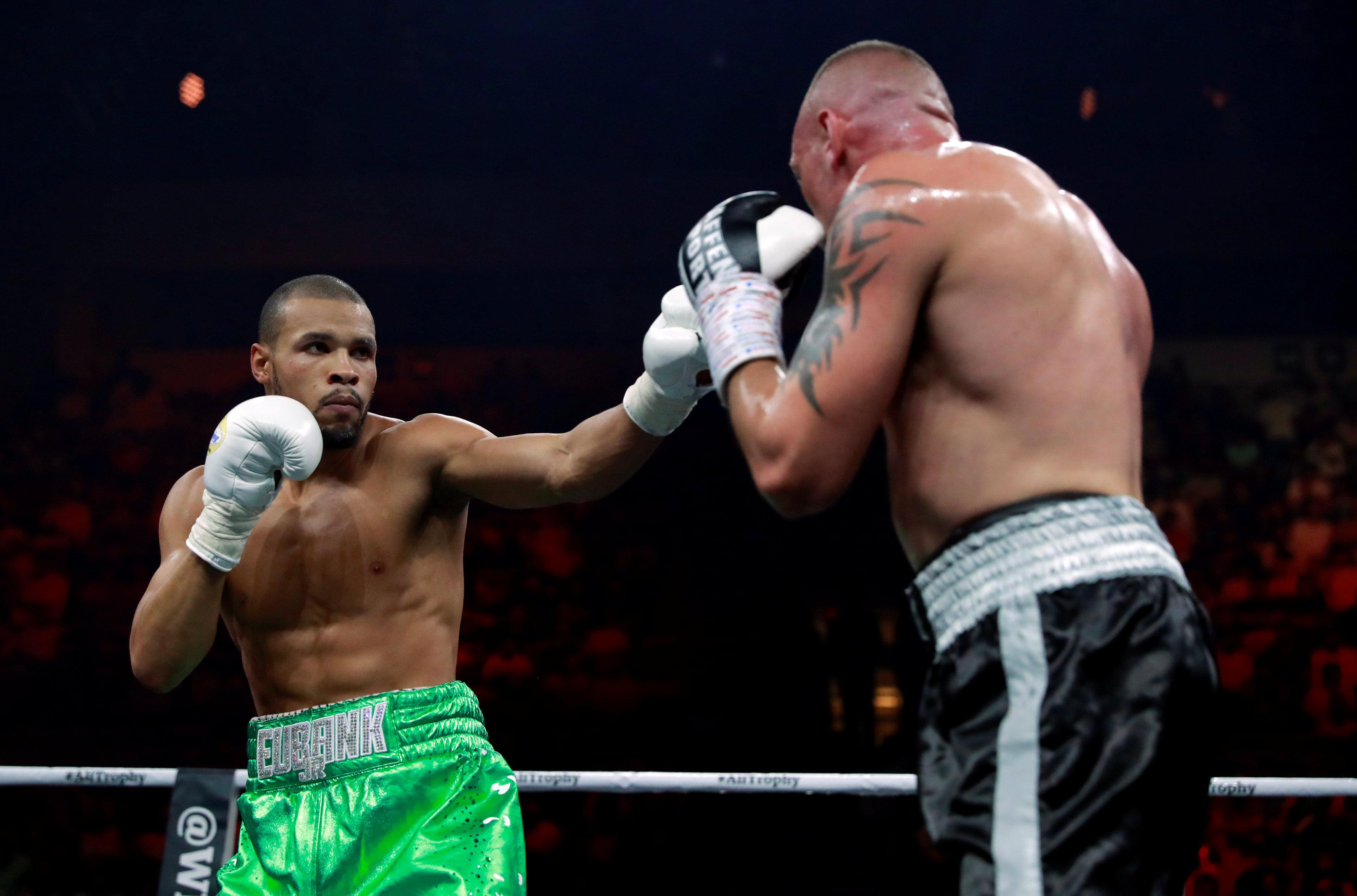 Eubank Jr extended his record to 27-7 after beating his Irish opponent