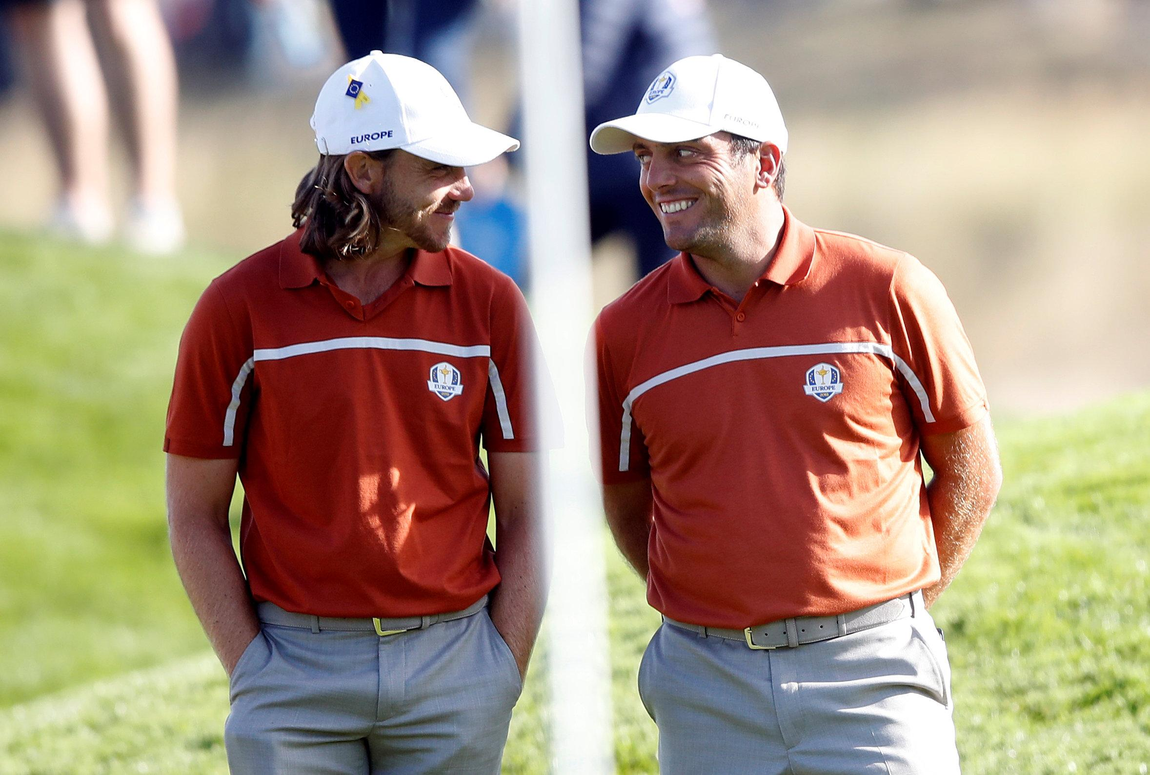 Tommy Fleetwood and Francisco Molinari won all four of their matches together on Friday and Saturday