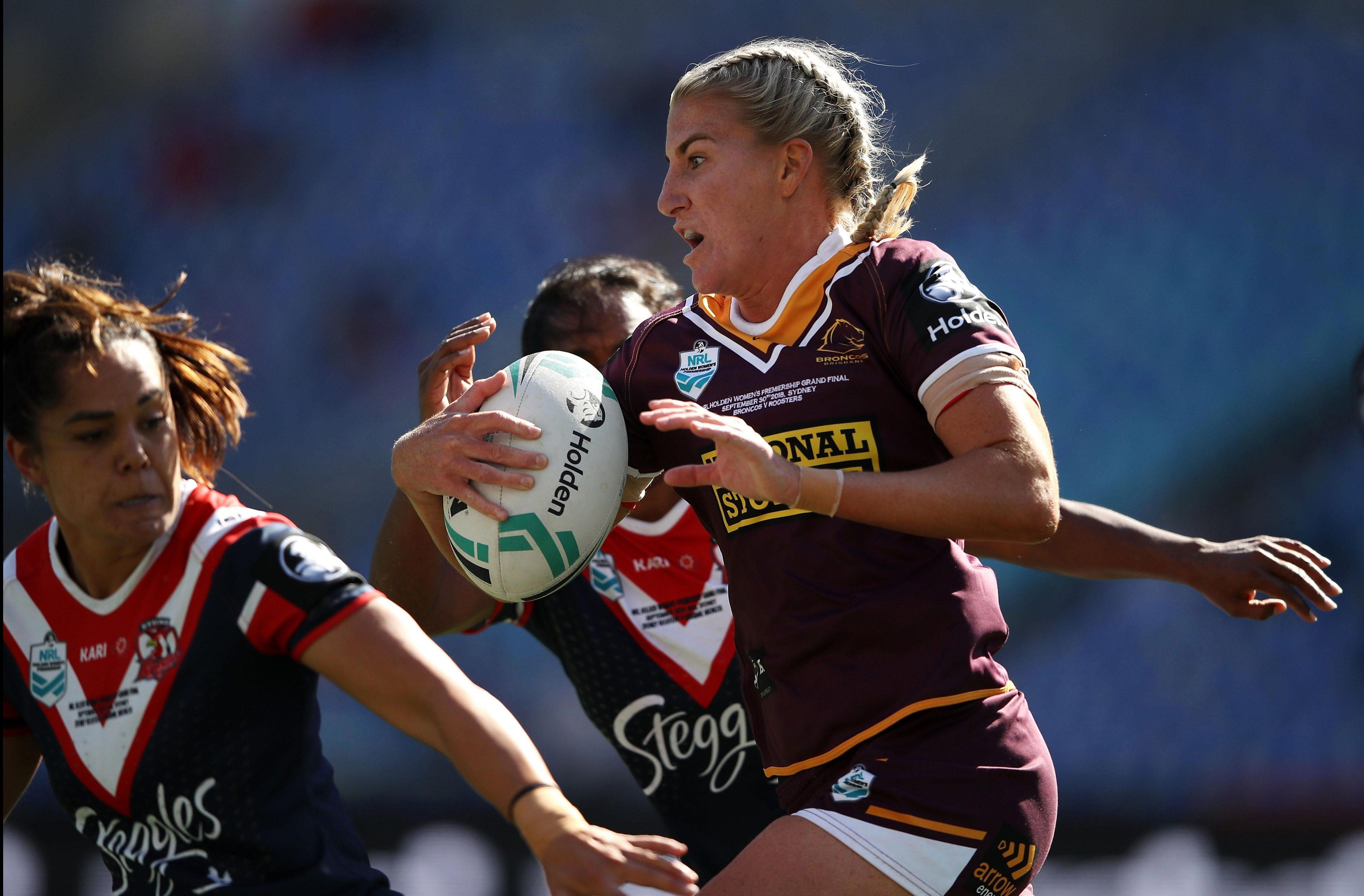 Brisbane won the first Women's Premiership trophy