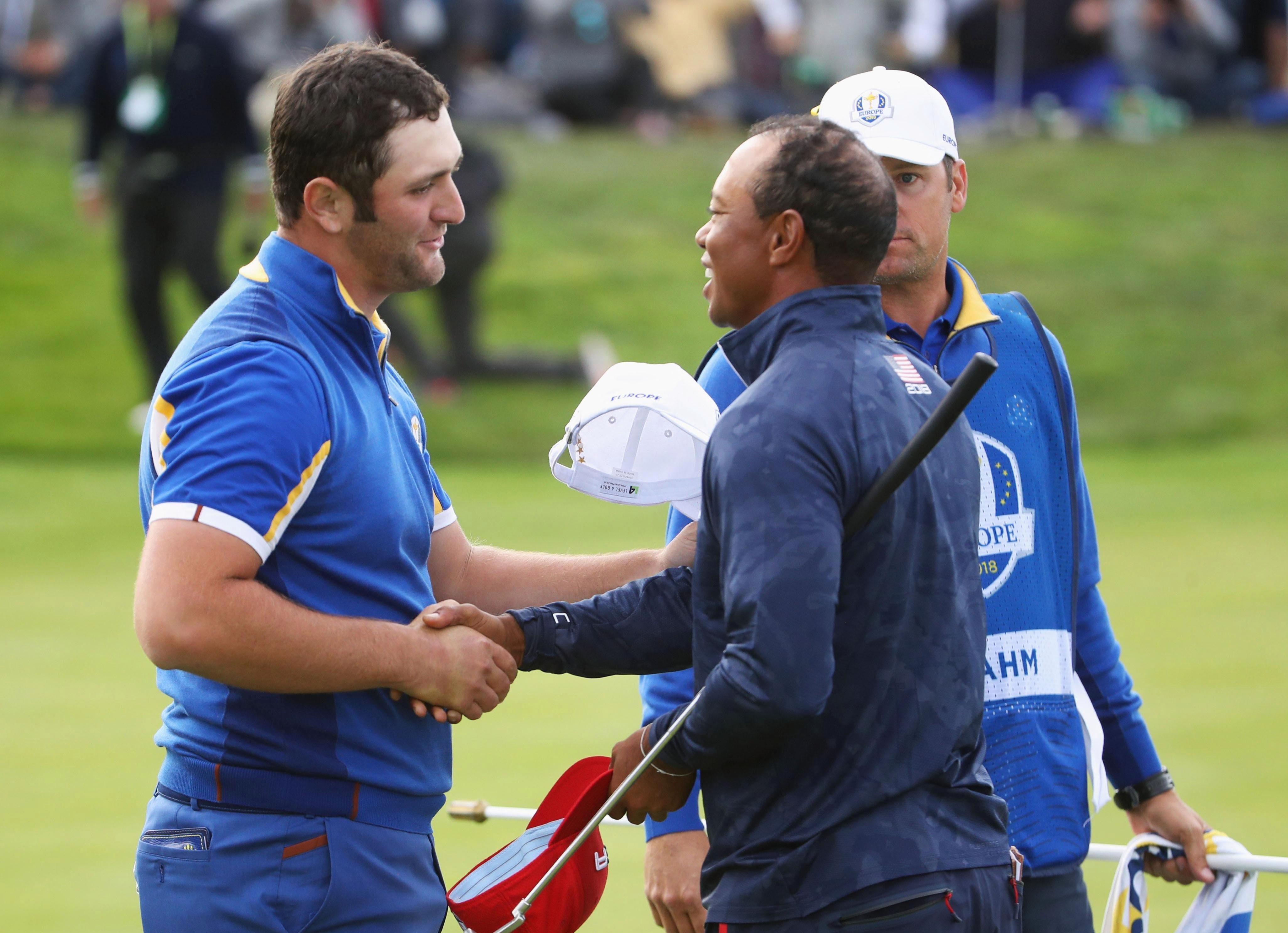 Jon Rahm was sensational as he beat Tiger Woods