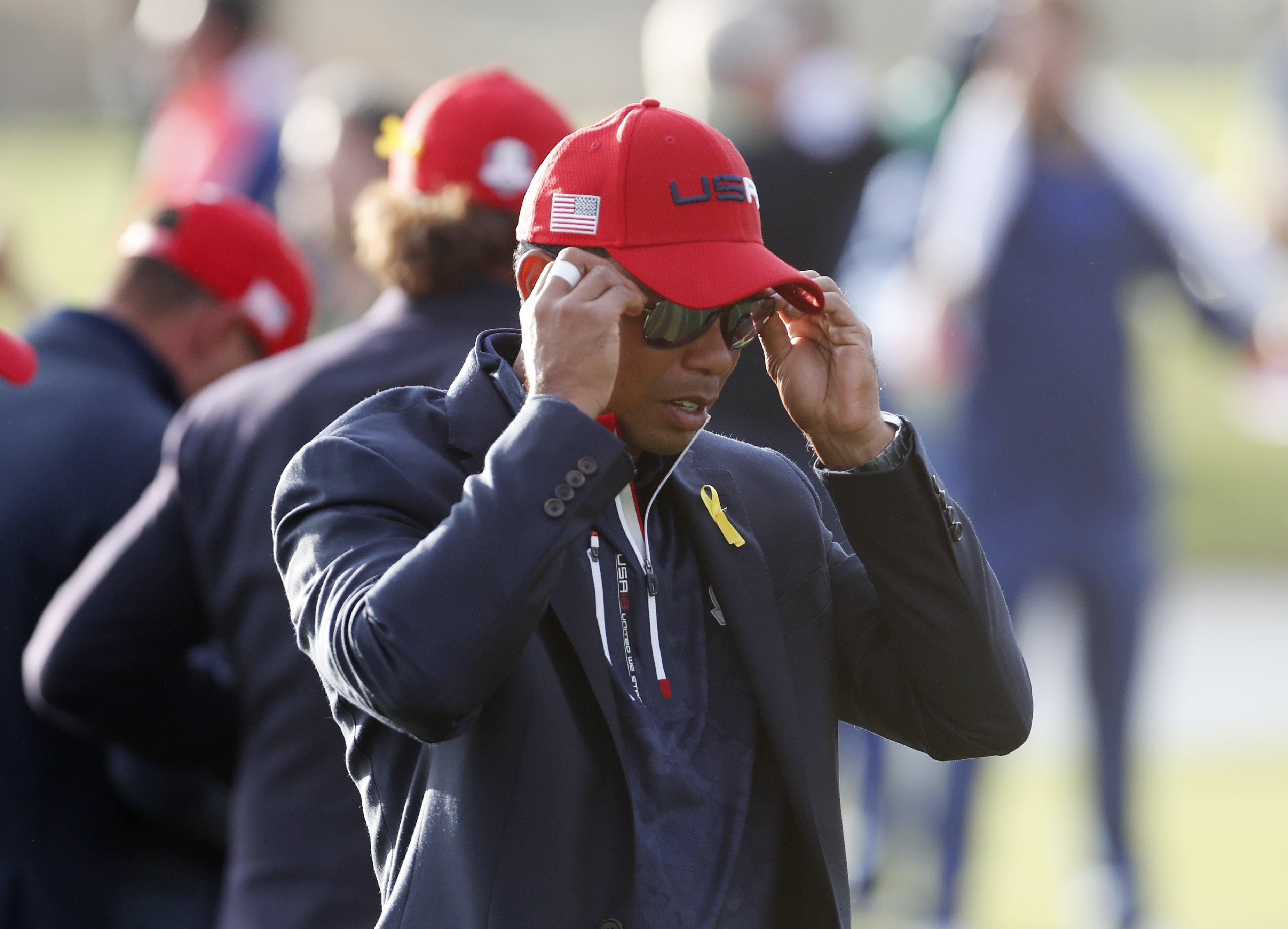 Tiger Woods left the course without picking up a single point yet again just weeks after his first tournament victory for years
