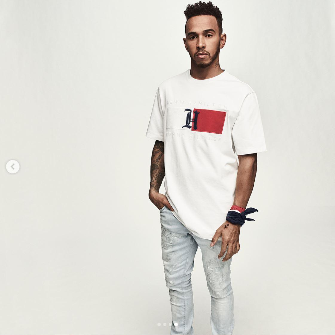Lewis Hamilton claims there's been a good reaction from celebs to his fashion venture