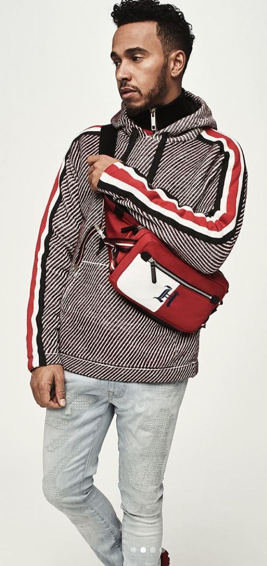 There is a practical side to the clothing from four-time F1 champ Lewis Hamilton