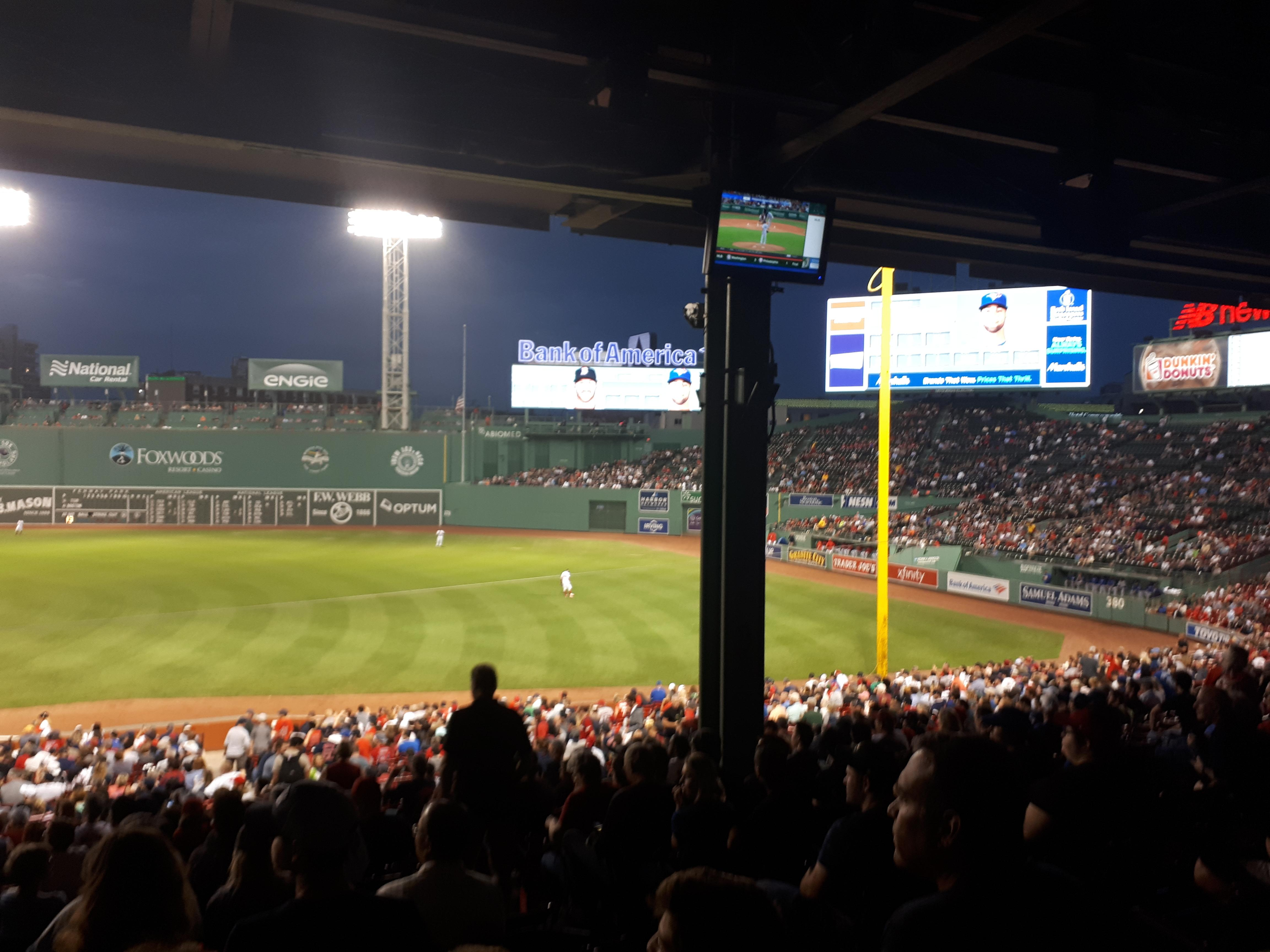 Fenway Park is home of the famed Boston Red Sox