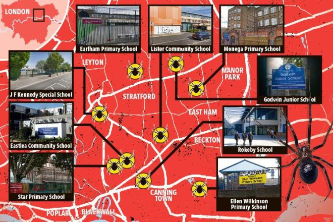 Today John F Kennedy Special School in Newham, East London, became the latest to shut its doors