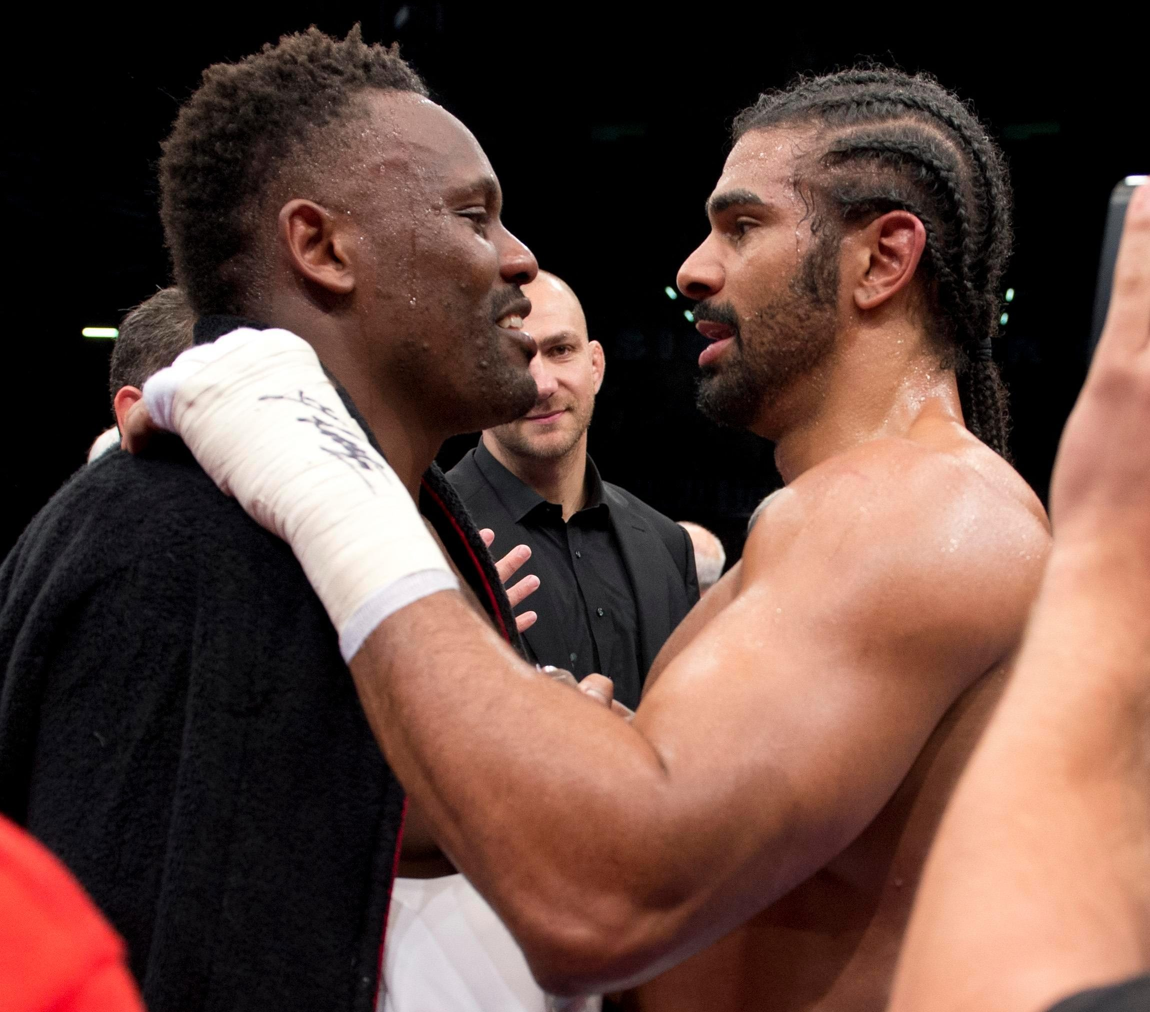 Dereck Chisora and David Haye have joined forces
