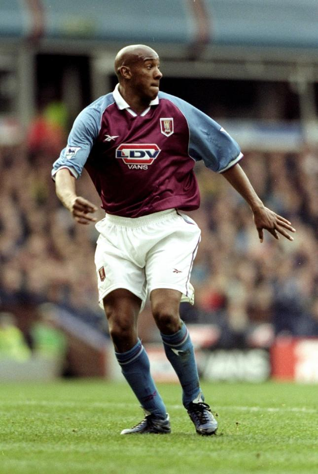 But the legendary striker enjoyed a much better time of it while at Aston Villa