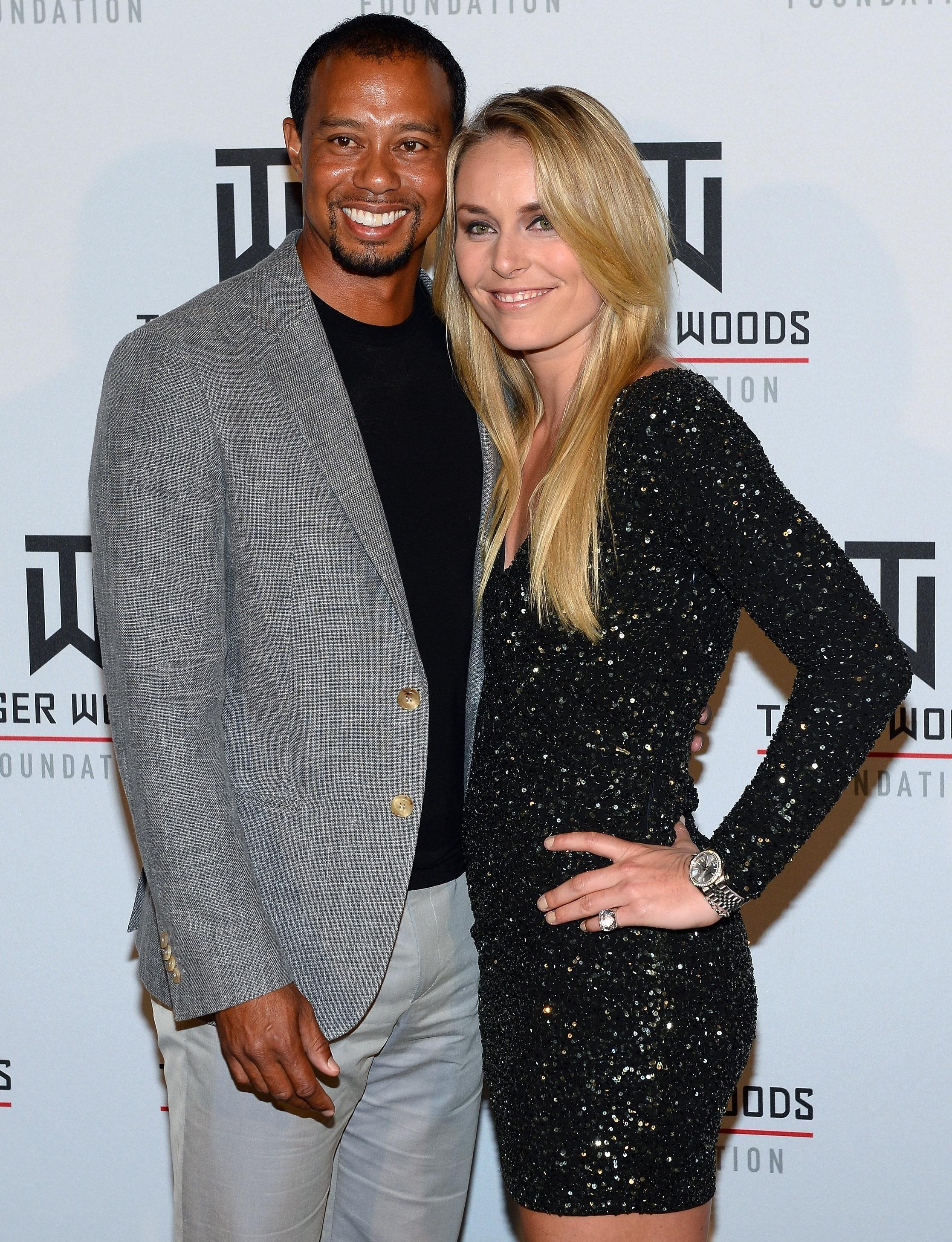 Olympic skier Lindsey Vonn dated Tiger Woods briefly in 2013