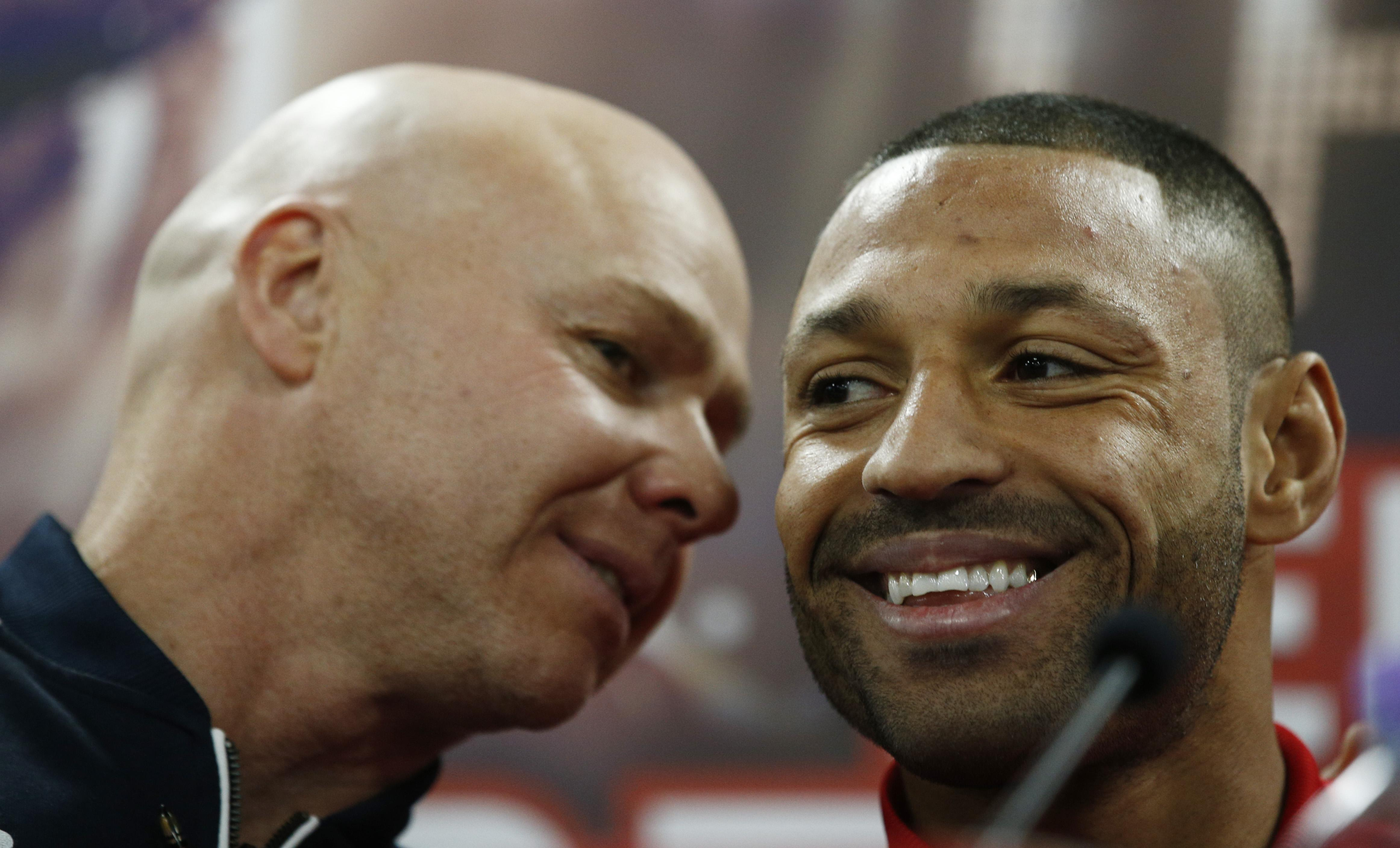 Dominic Ingle and Kell Brook seemed a very close team