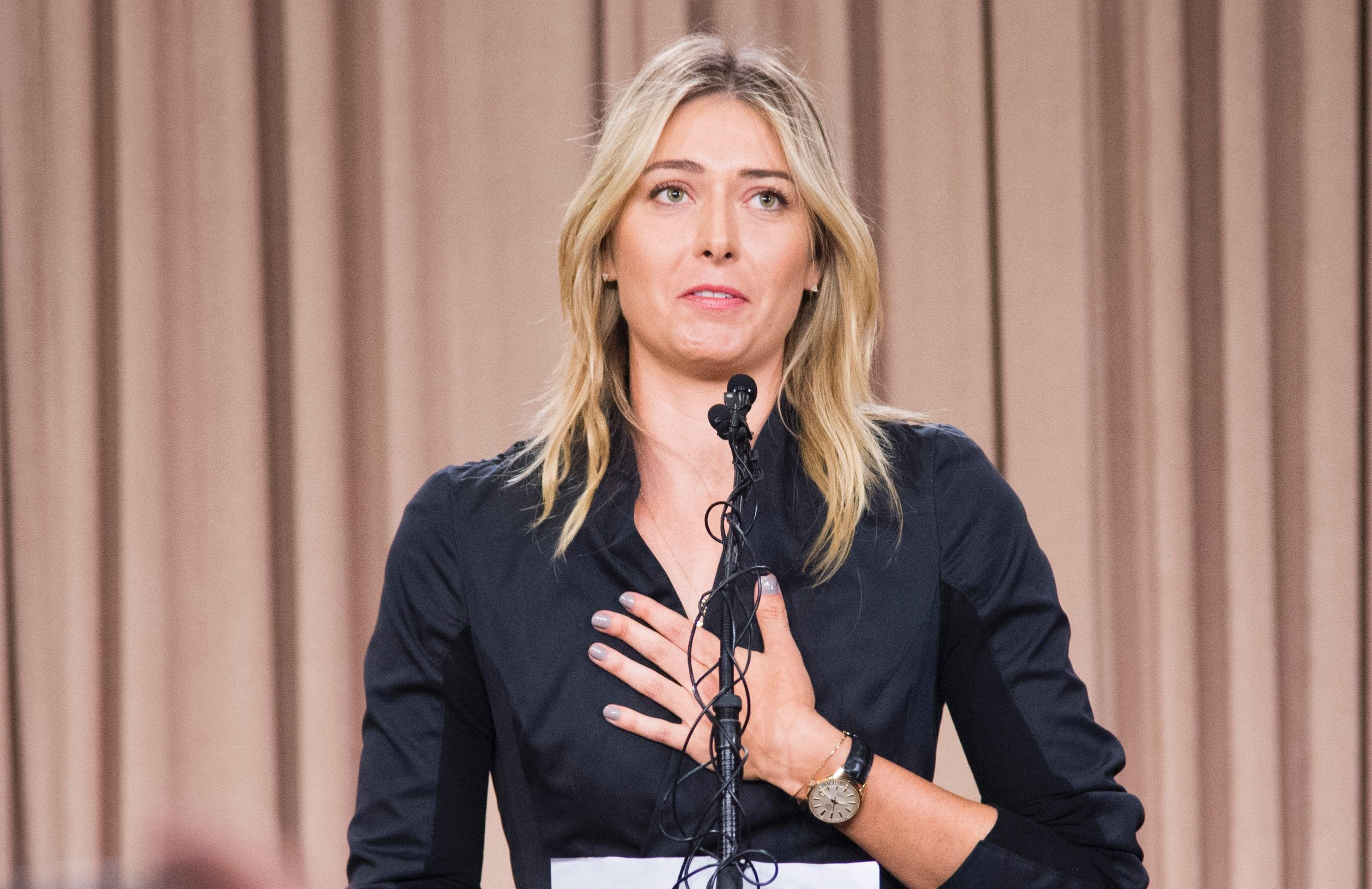 Maria Sharapova was banned for 15 months after testing positive for Meldonium in 2016
