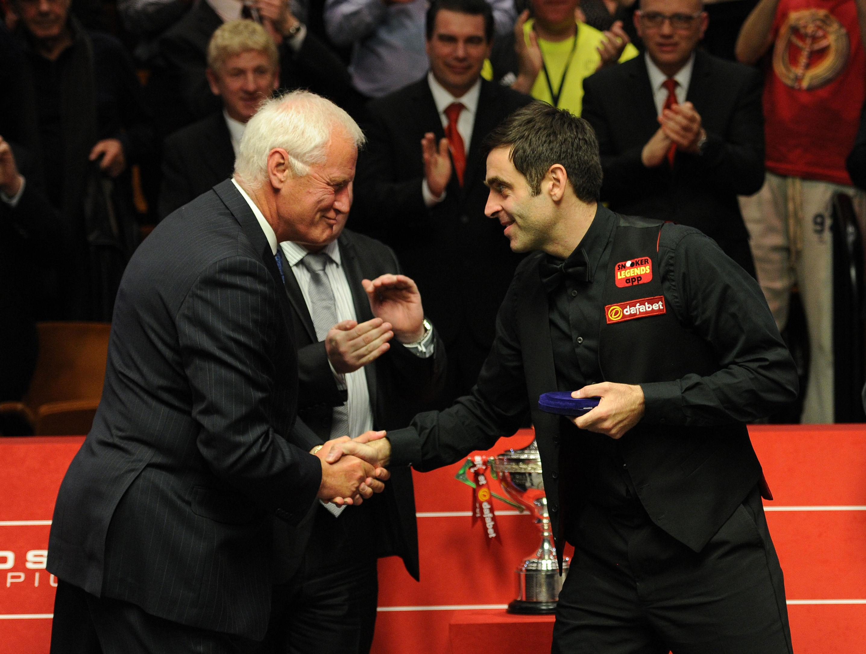 Despite the attack, Hearn, left,remains a great admirer of O'Sullivan, right