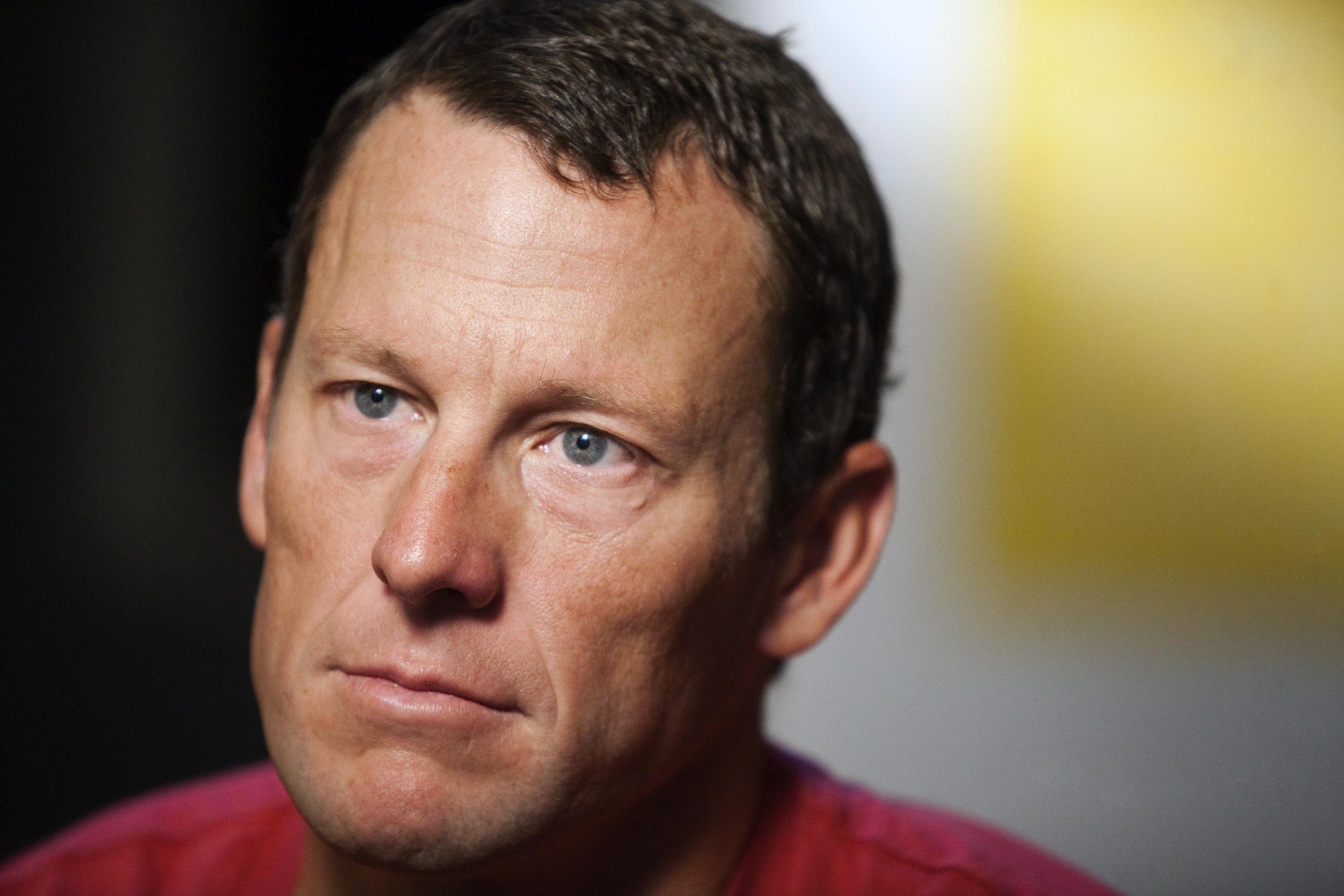Armstrong was stripped of all seven of his Tour titles