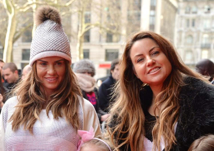 Katie Prices former best friend Jane Pountney right) has split from her husband, four years after sleeping with Kieran Hayler