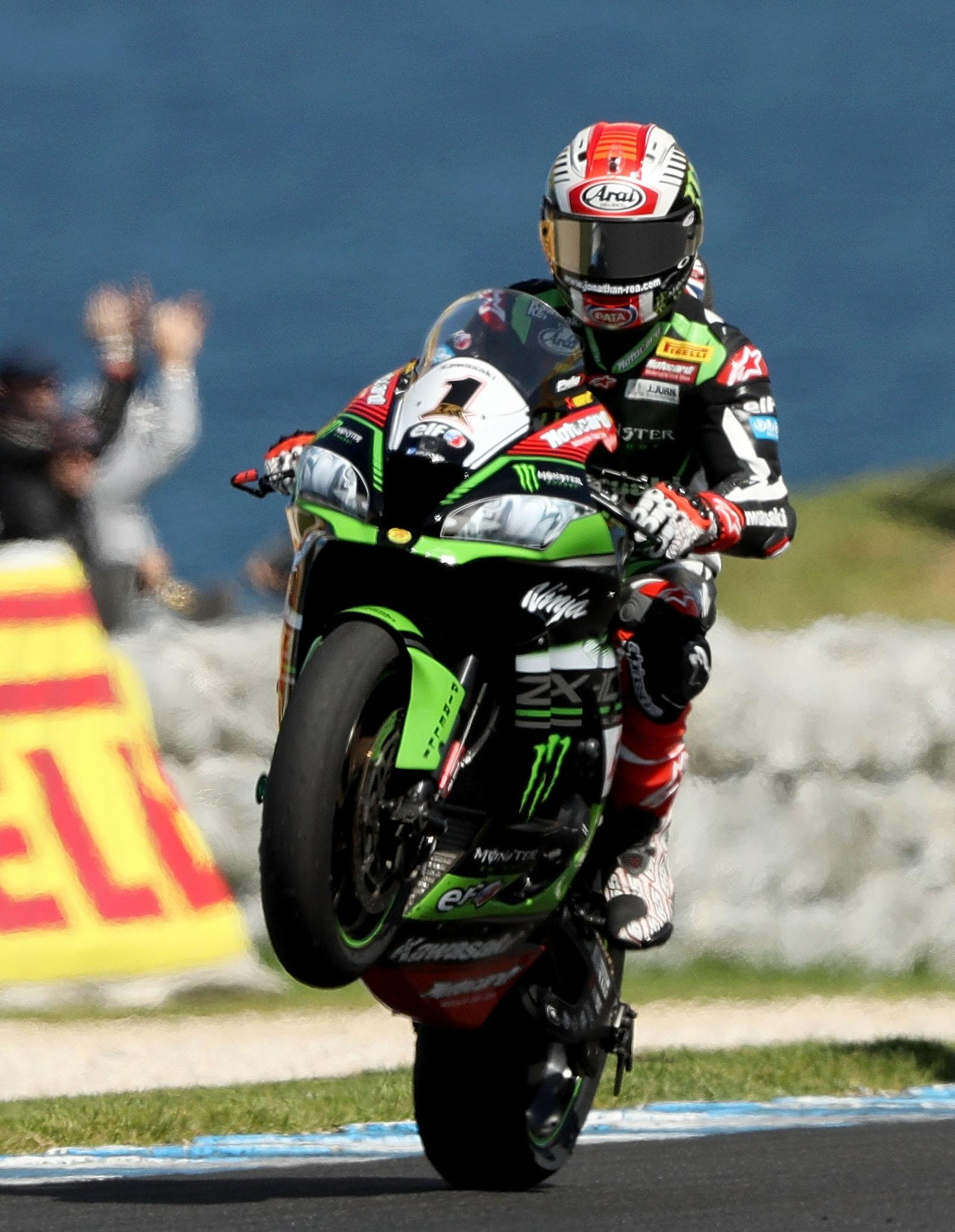 Jonathan Rea has had no fewer than ten different surgeries