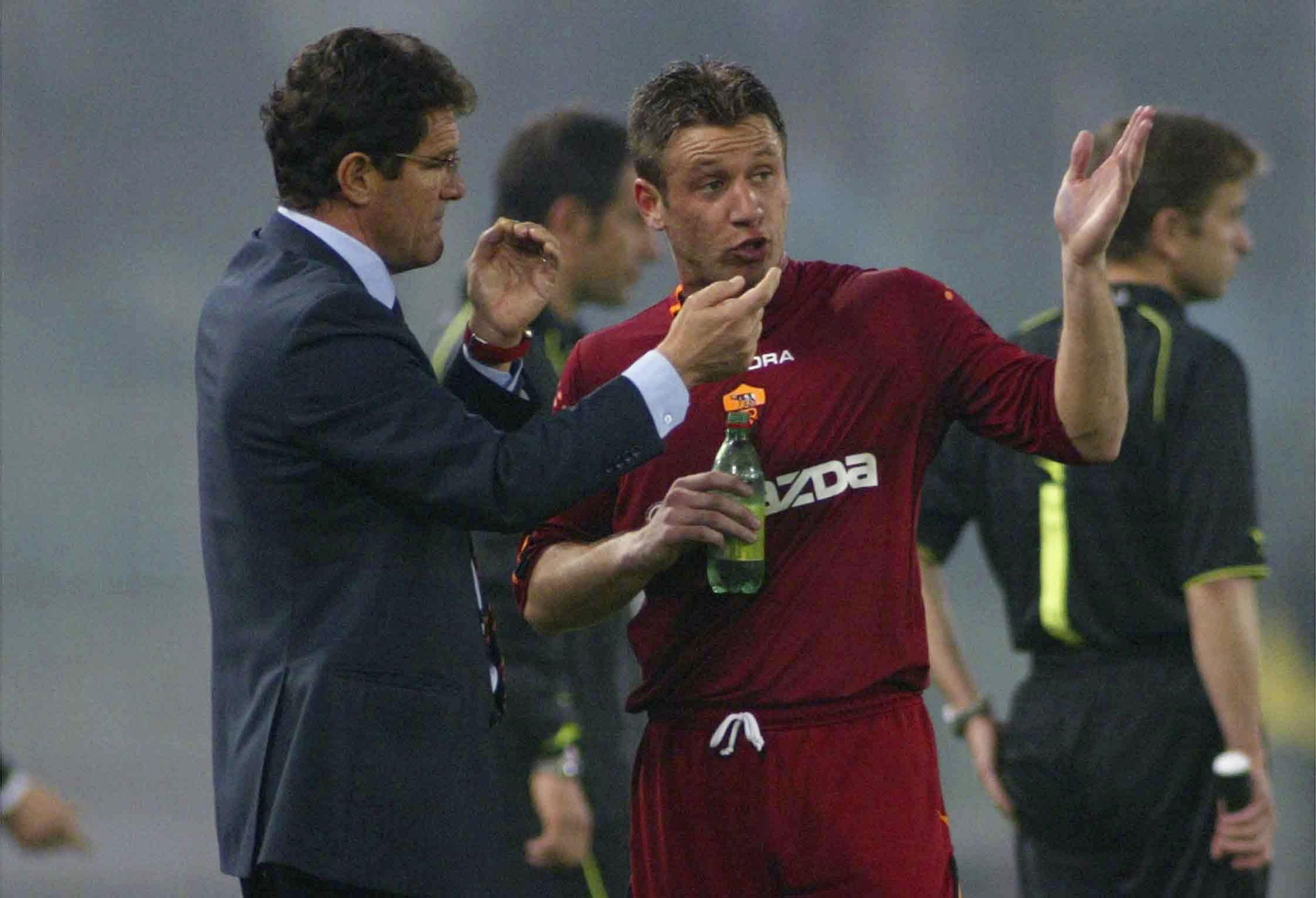 Antonio Cassano fell out with Roma boss Fabio Cappello after a big-money move from Bari