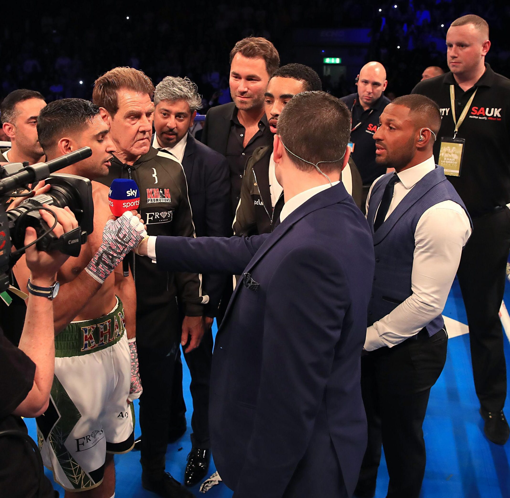 Khan and Brook met in the ring in April but are set to do battle in 2019