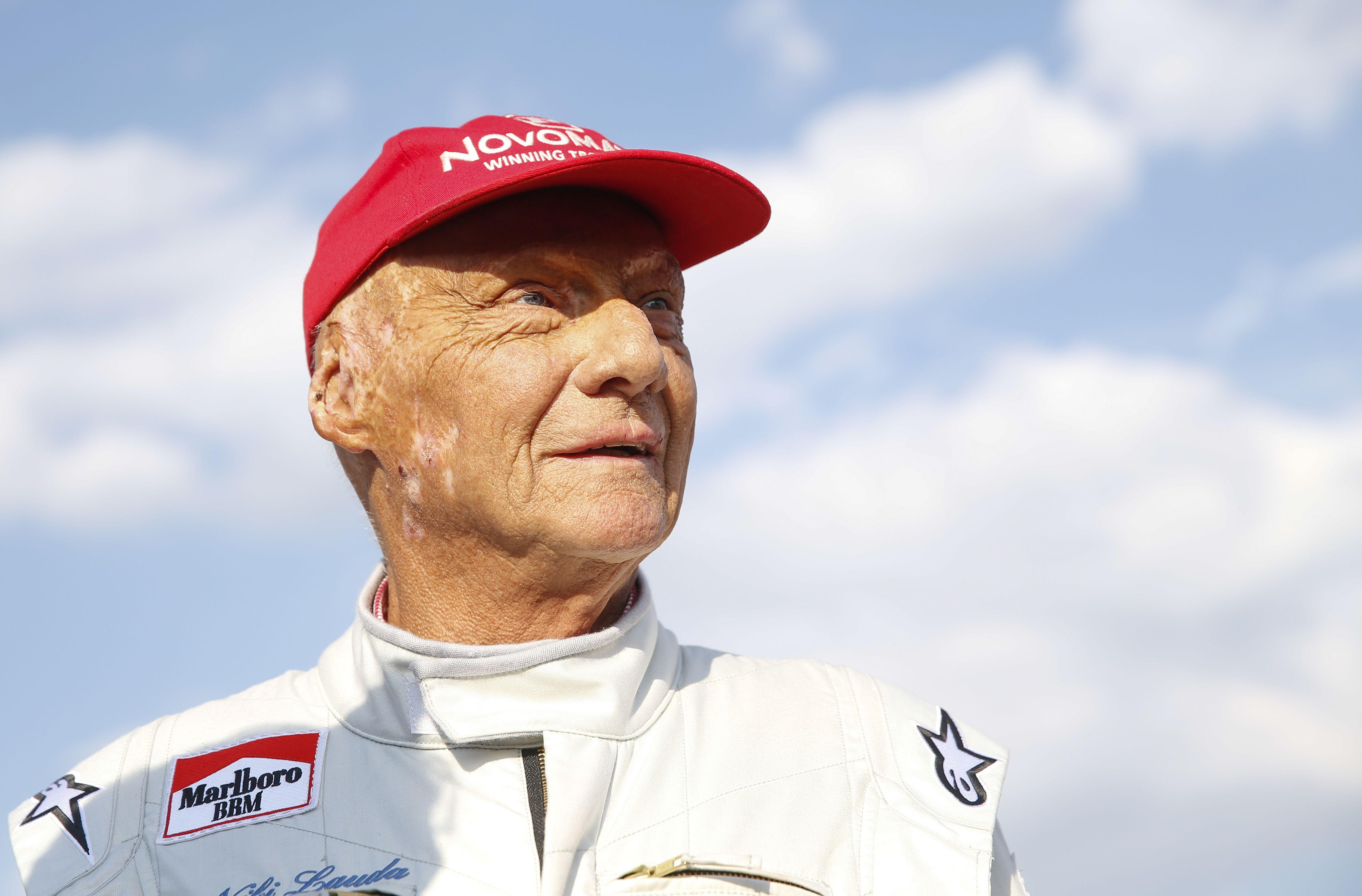 Edwards was one of the people who helped save Niki Lauda