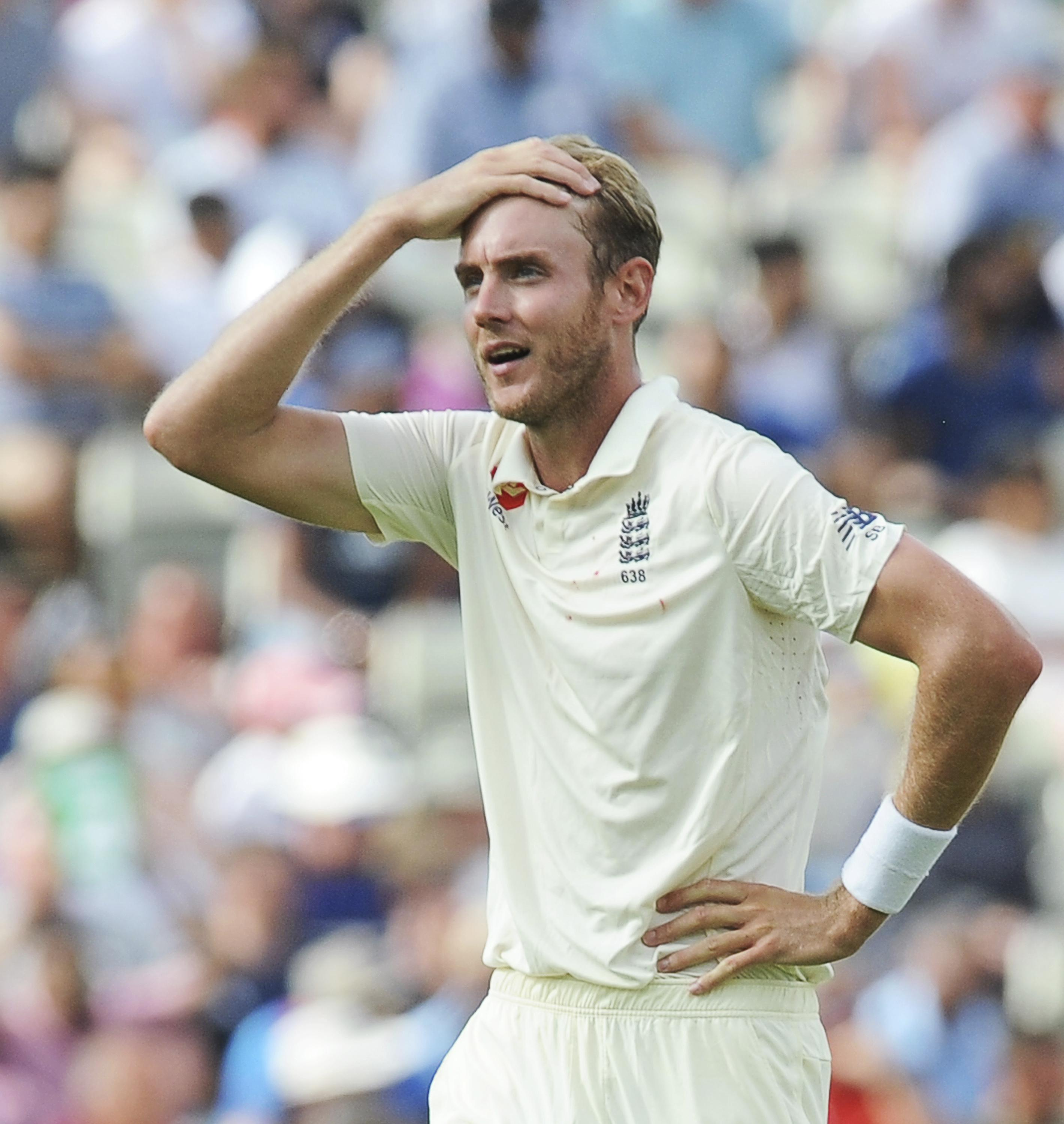Stuart Broad could be dropped for the first time in almost 10 years