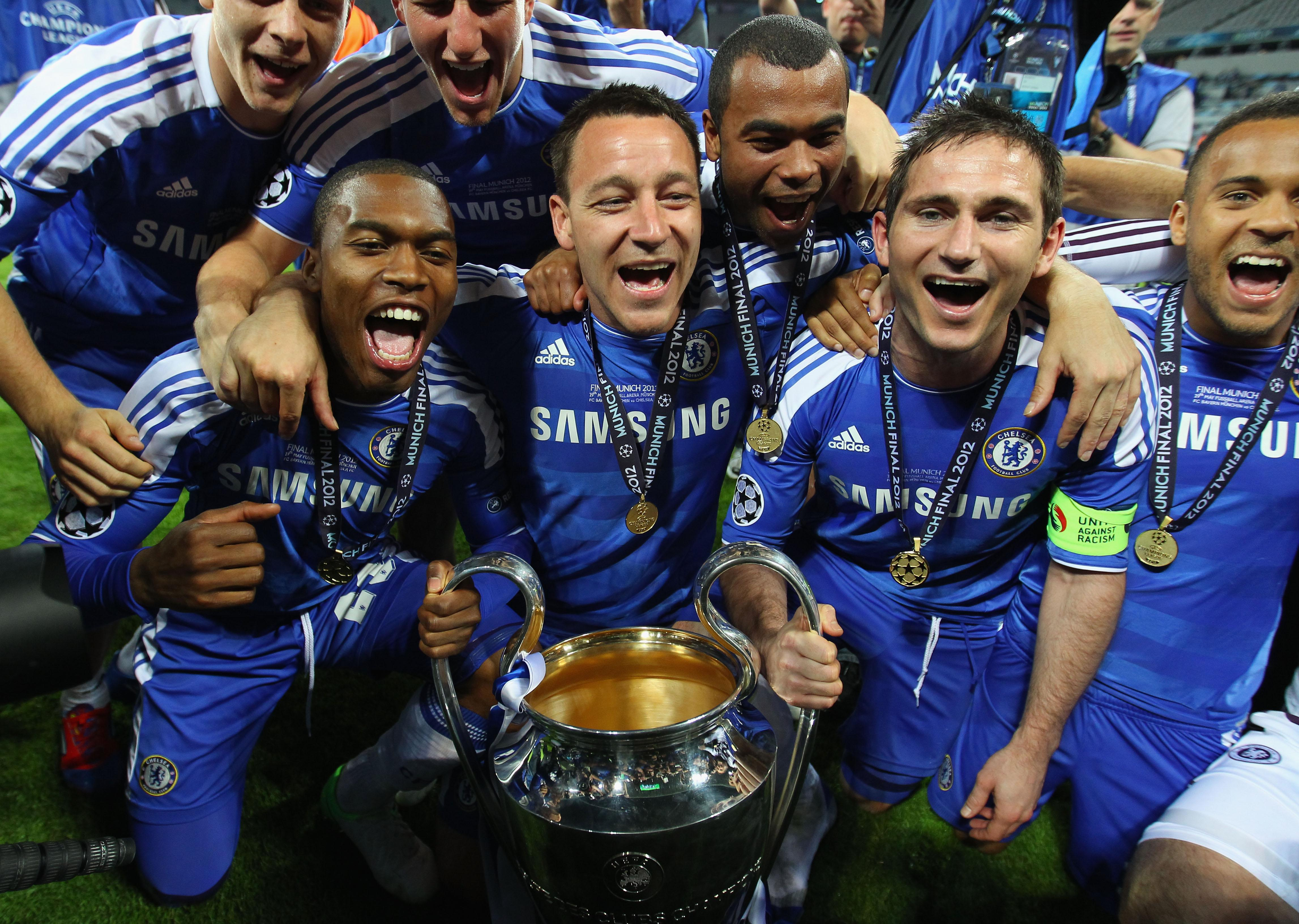 Frank Lampard enjoyed a glittering domestic career which included winning the Champions League in 2012 with Chelsea