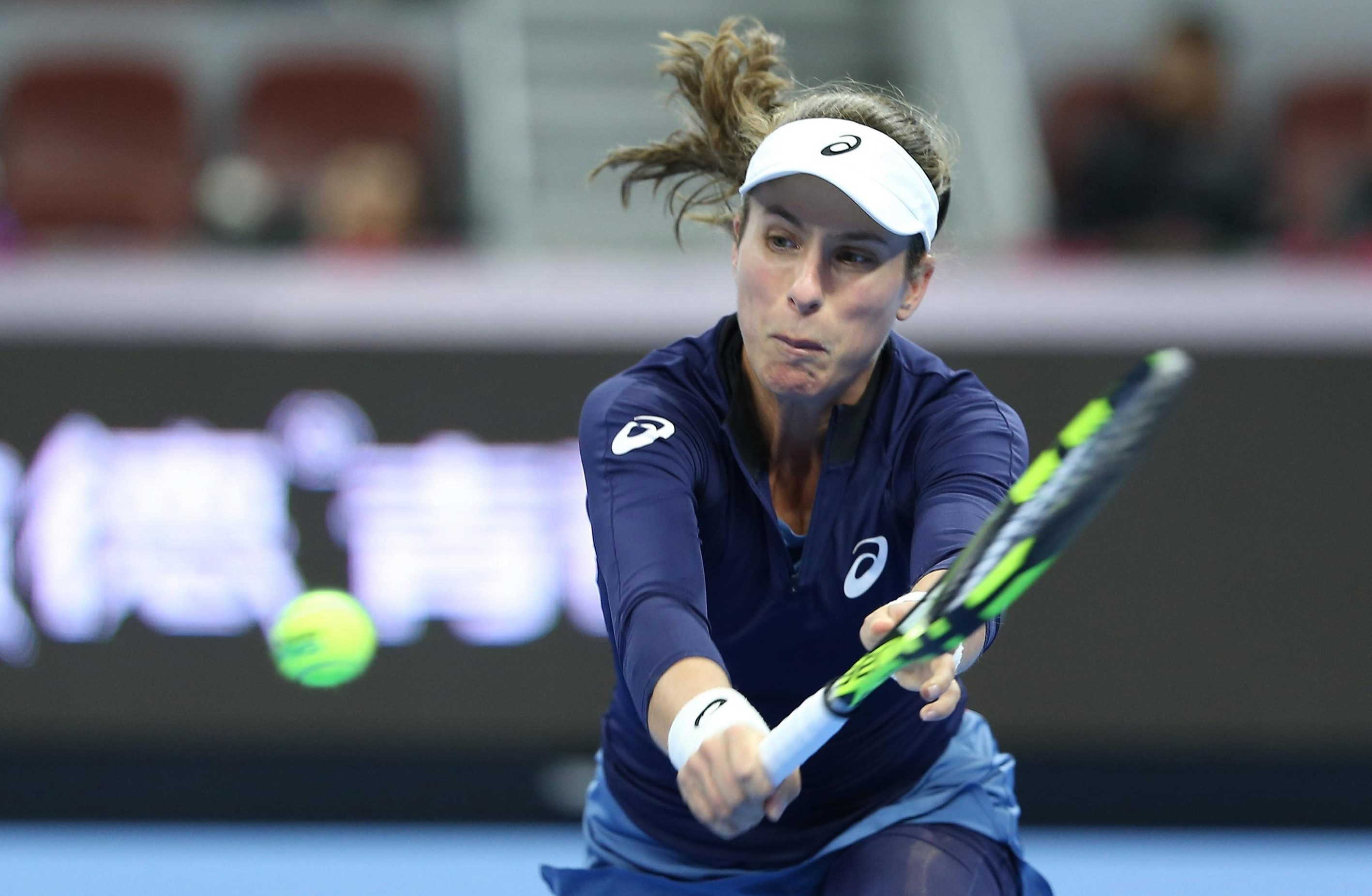 Jo Konta has fallen to 45th in the world after a poor year