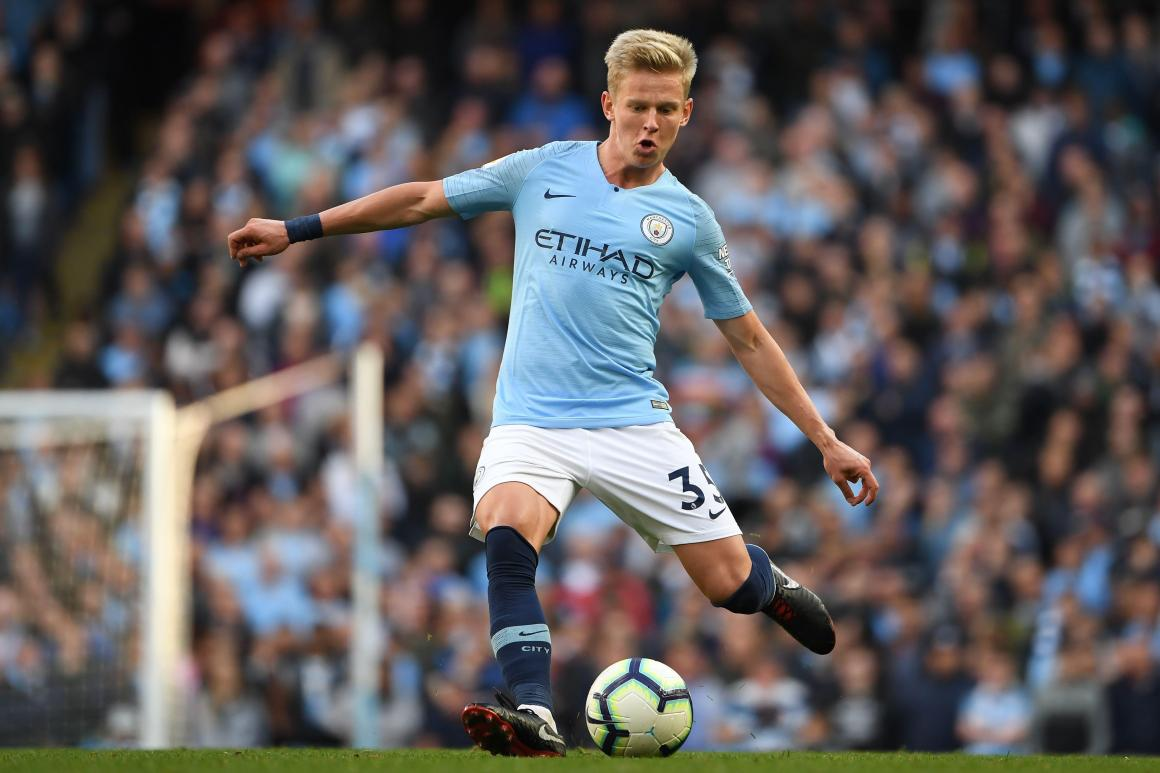 Manchester City outcast Oleksandr Zinchenko open to joining Napoli in  January