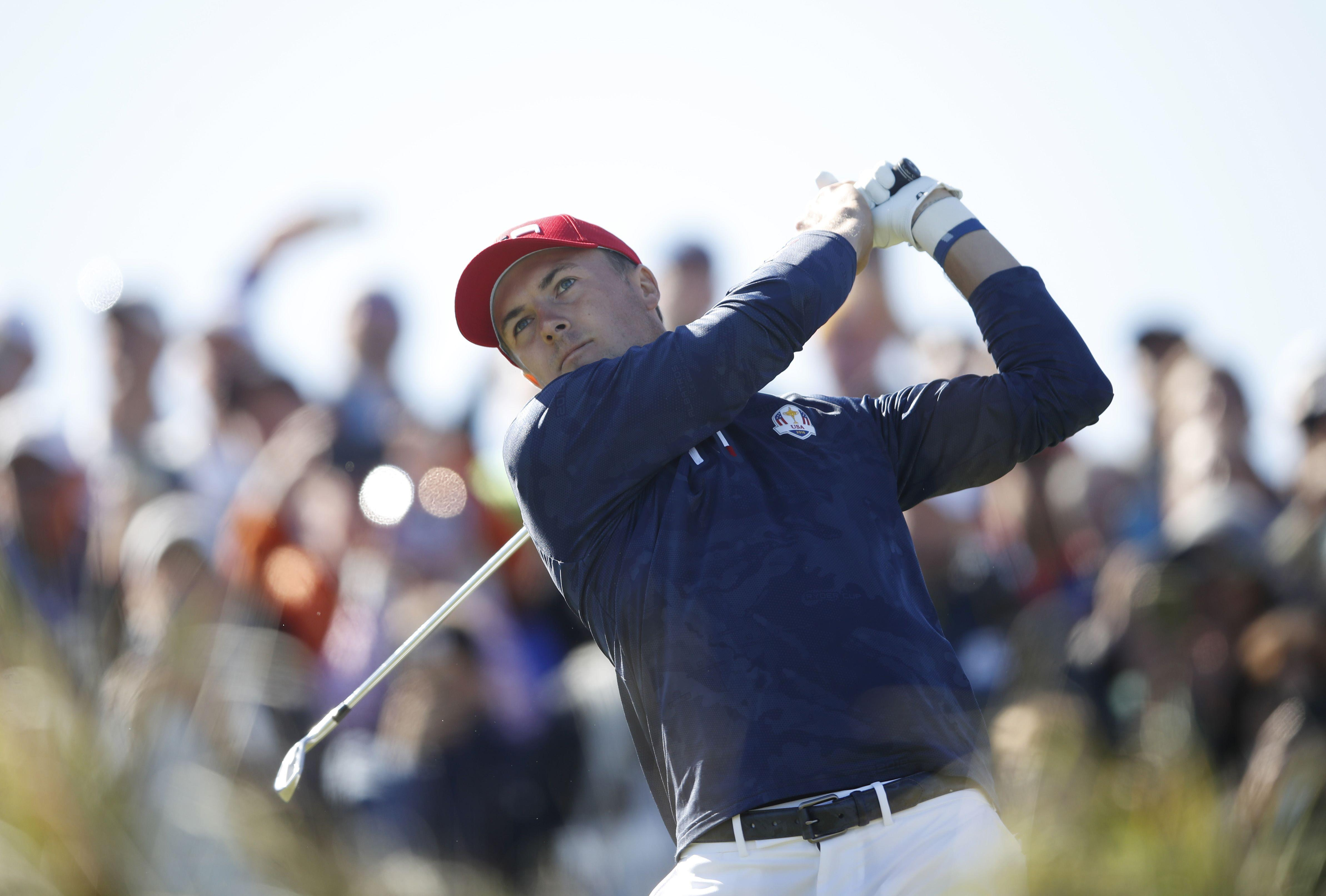 Jordan Spieth has come in for criticism from USA team-mate Patrick Reed