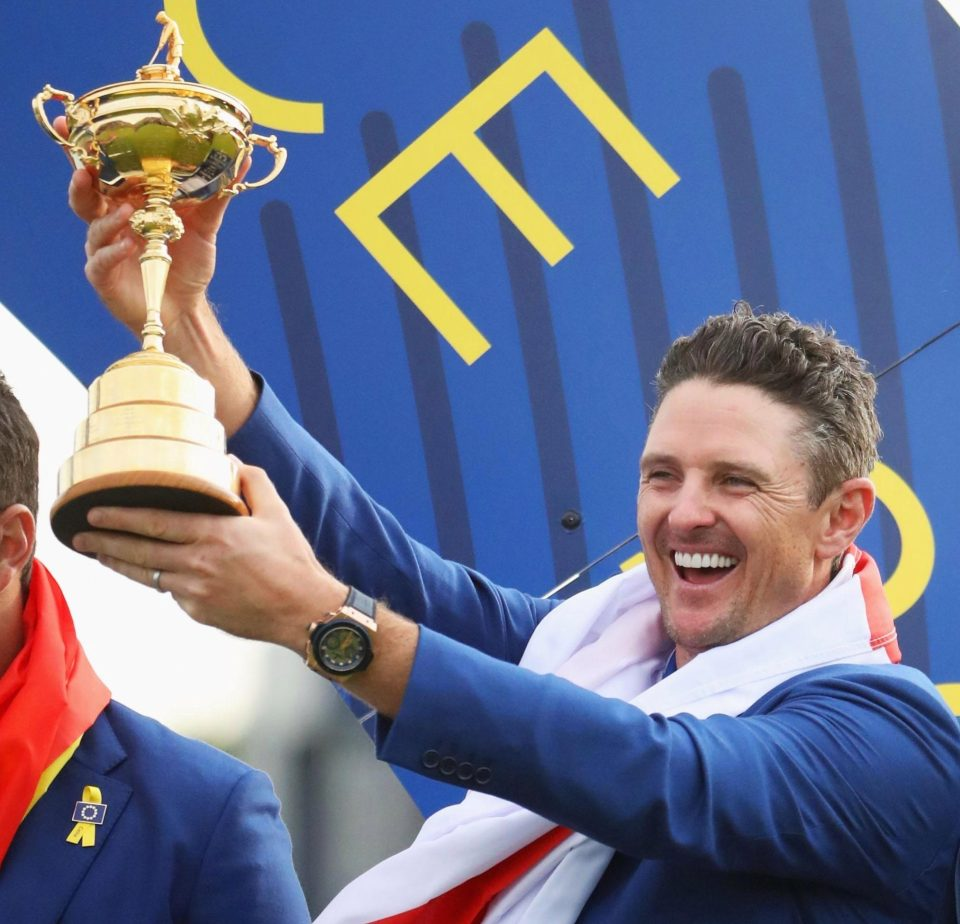 Rose believes Harrington is a European legend and is the man to lead the team at Whistling Straits in 2020