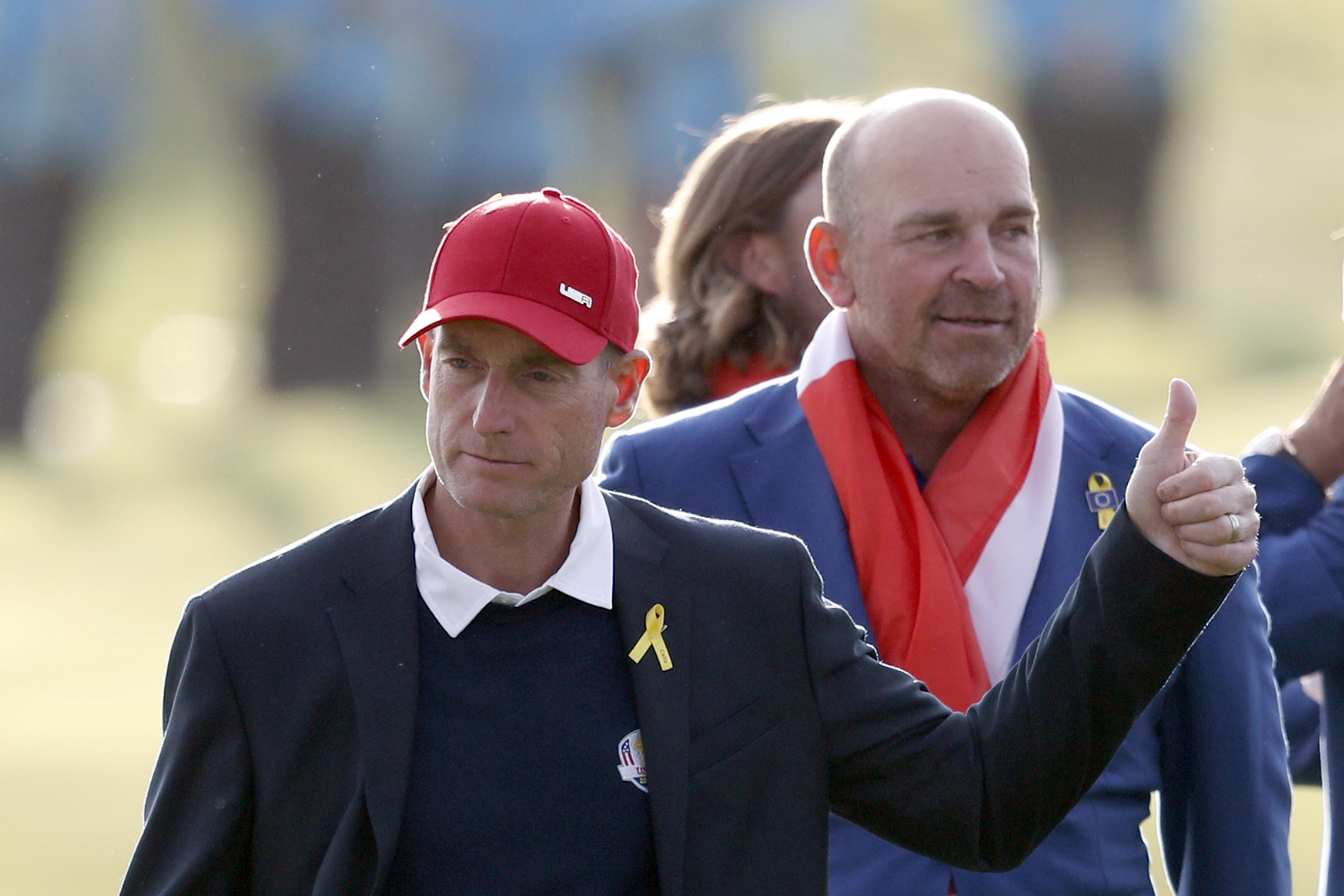 Jim Furyk also took the brunt of Patrick Reed's latest attack