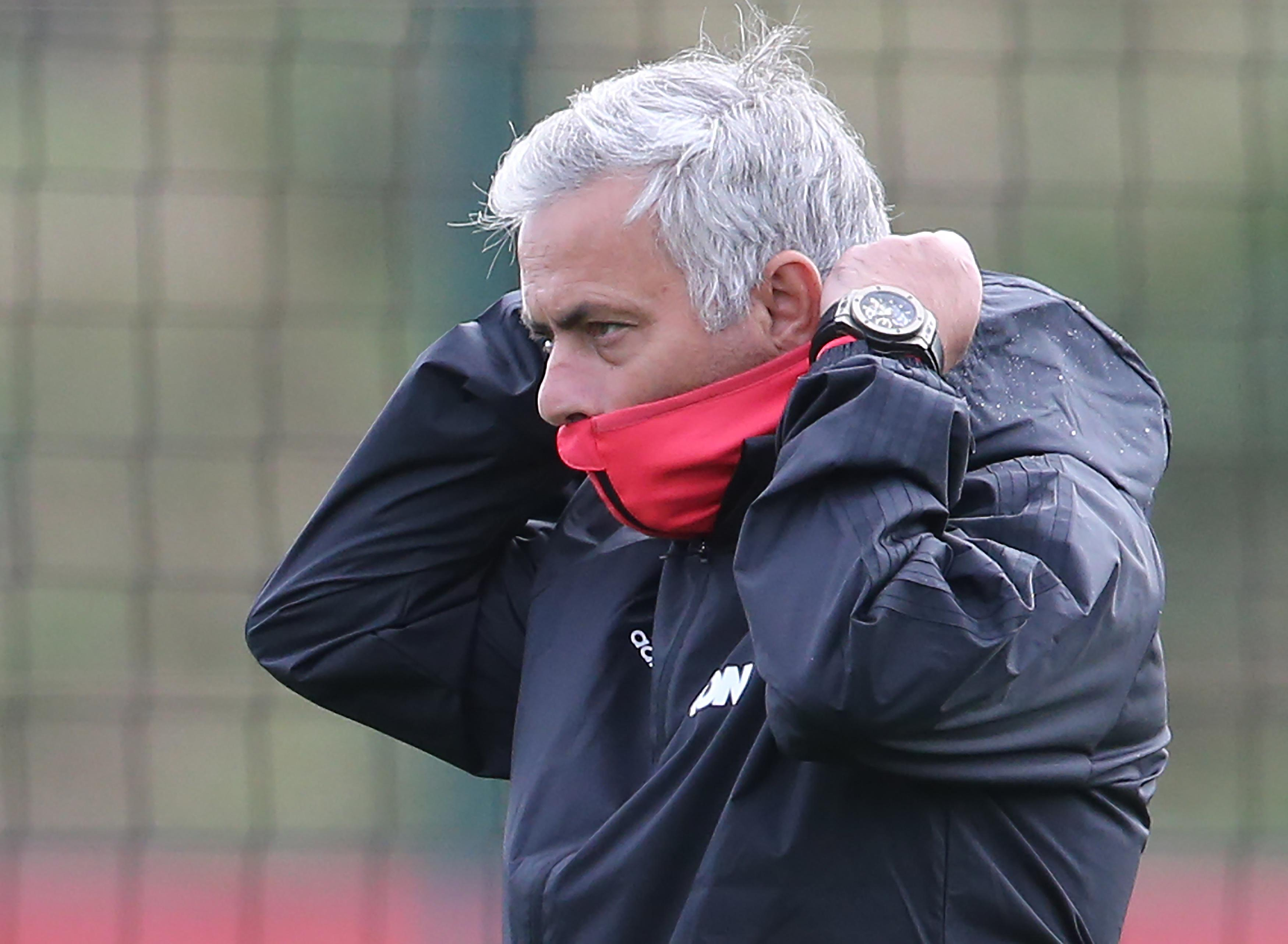 Similar situations in the past have never ended well for Mourinho