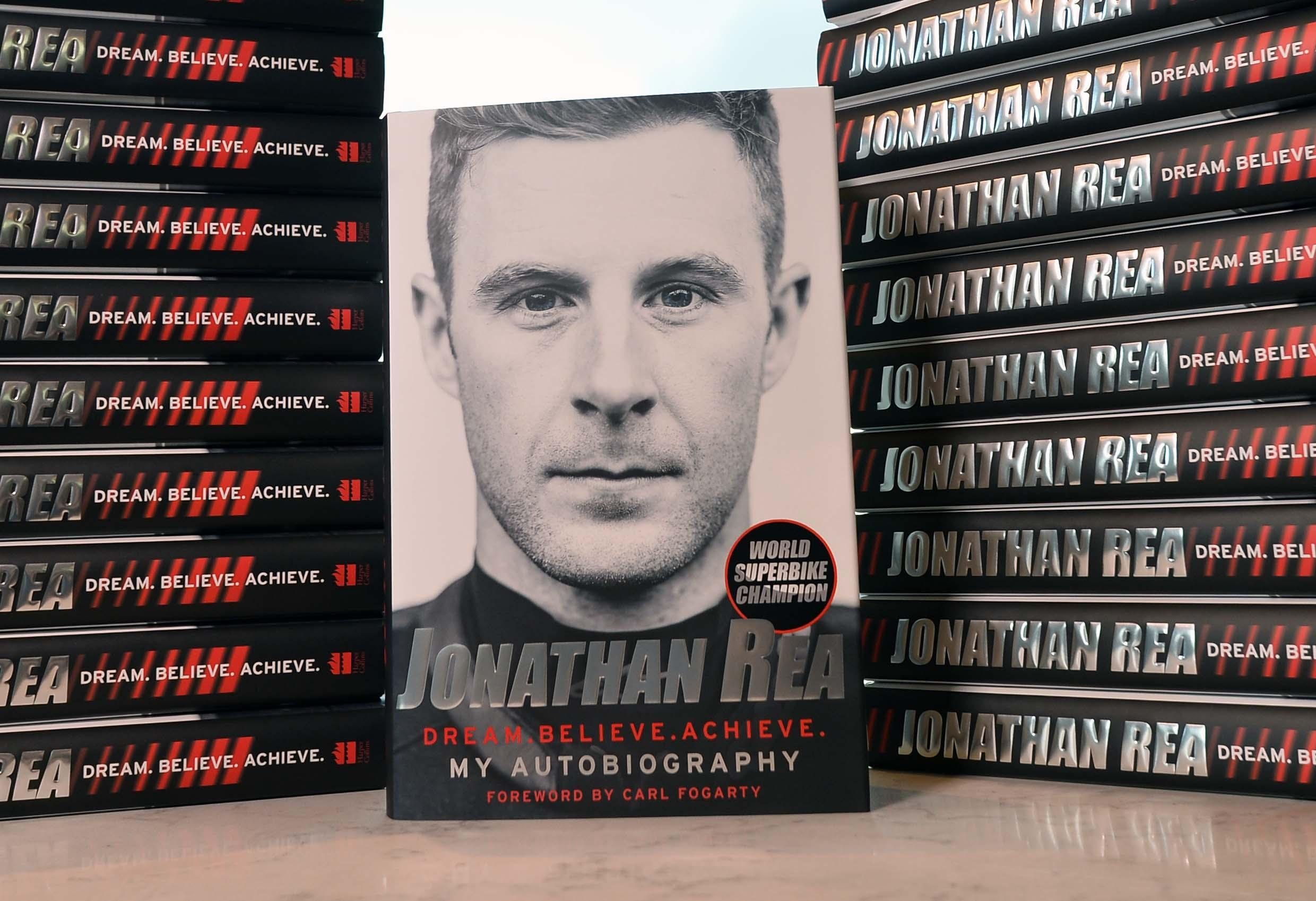 Jonathan Rea has written about his incredible career in his new autobiography